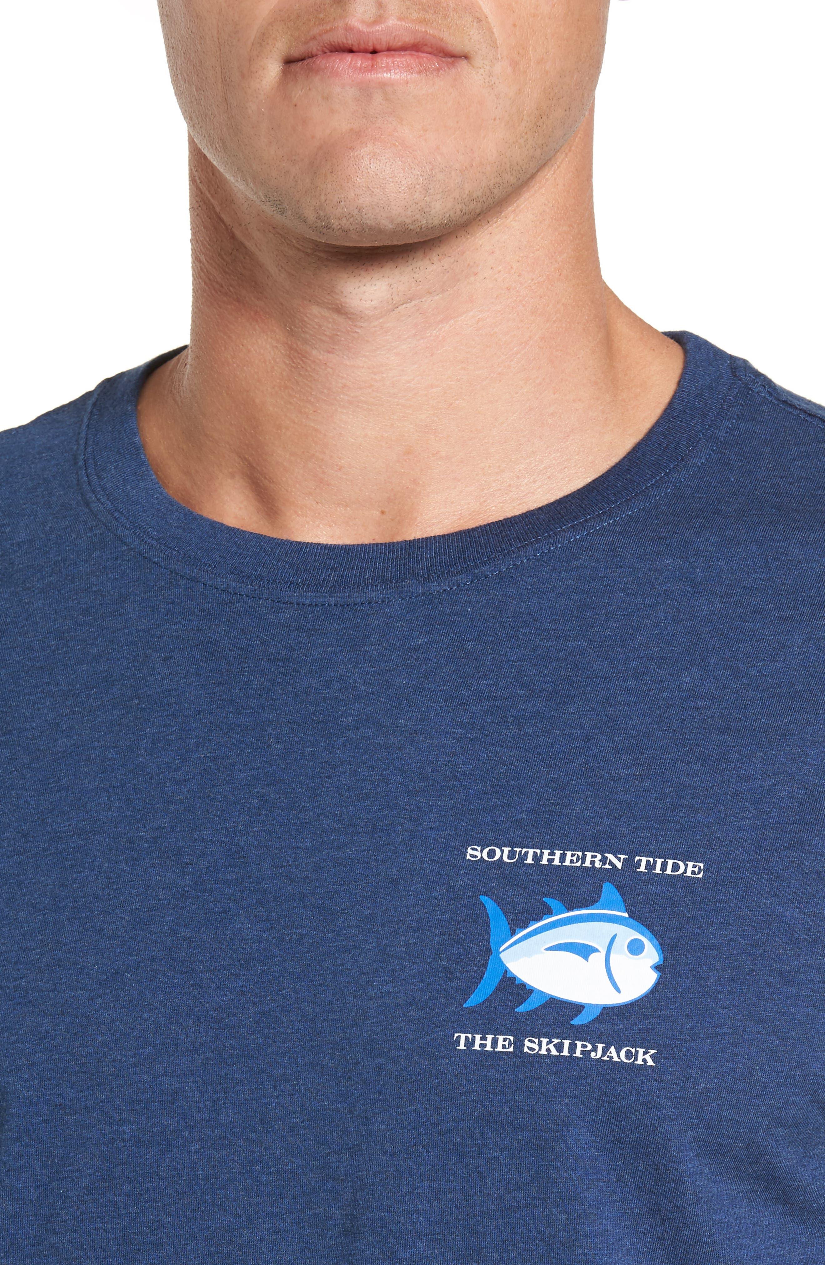 Original Graphic T-Shirt,                             Alternate thumbnail 4, color,                             Navy