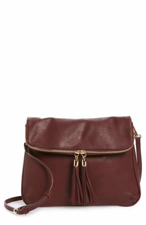 Faux Leather Handbags & Purses | Nordstrom