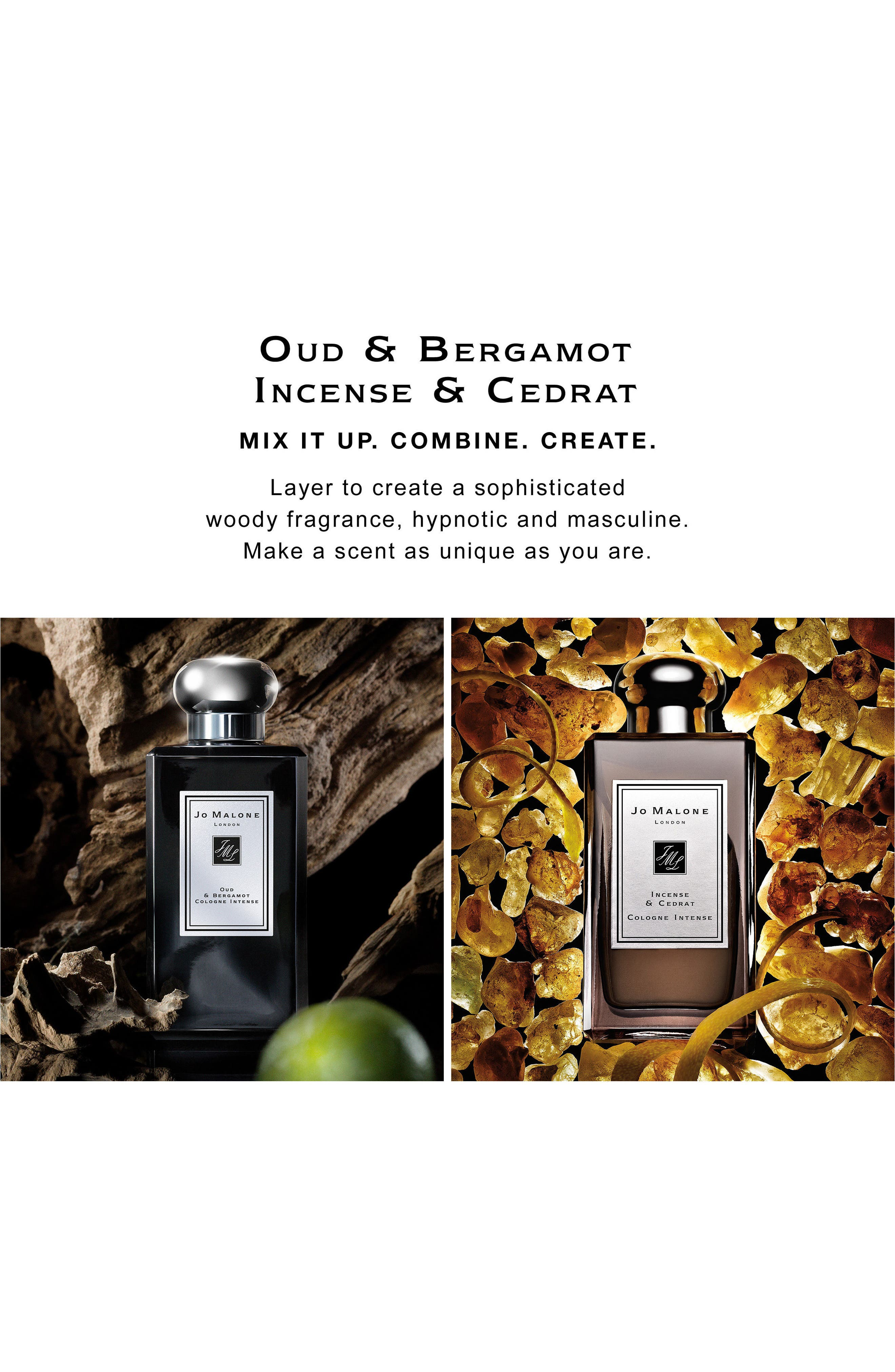 Oud & Bergamot Cologne Intense,                             Alternate thumbnail 7, color,                             No Color