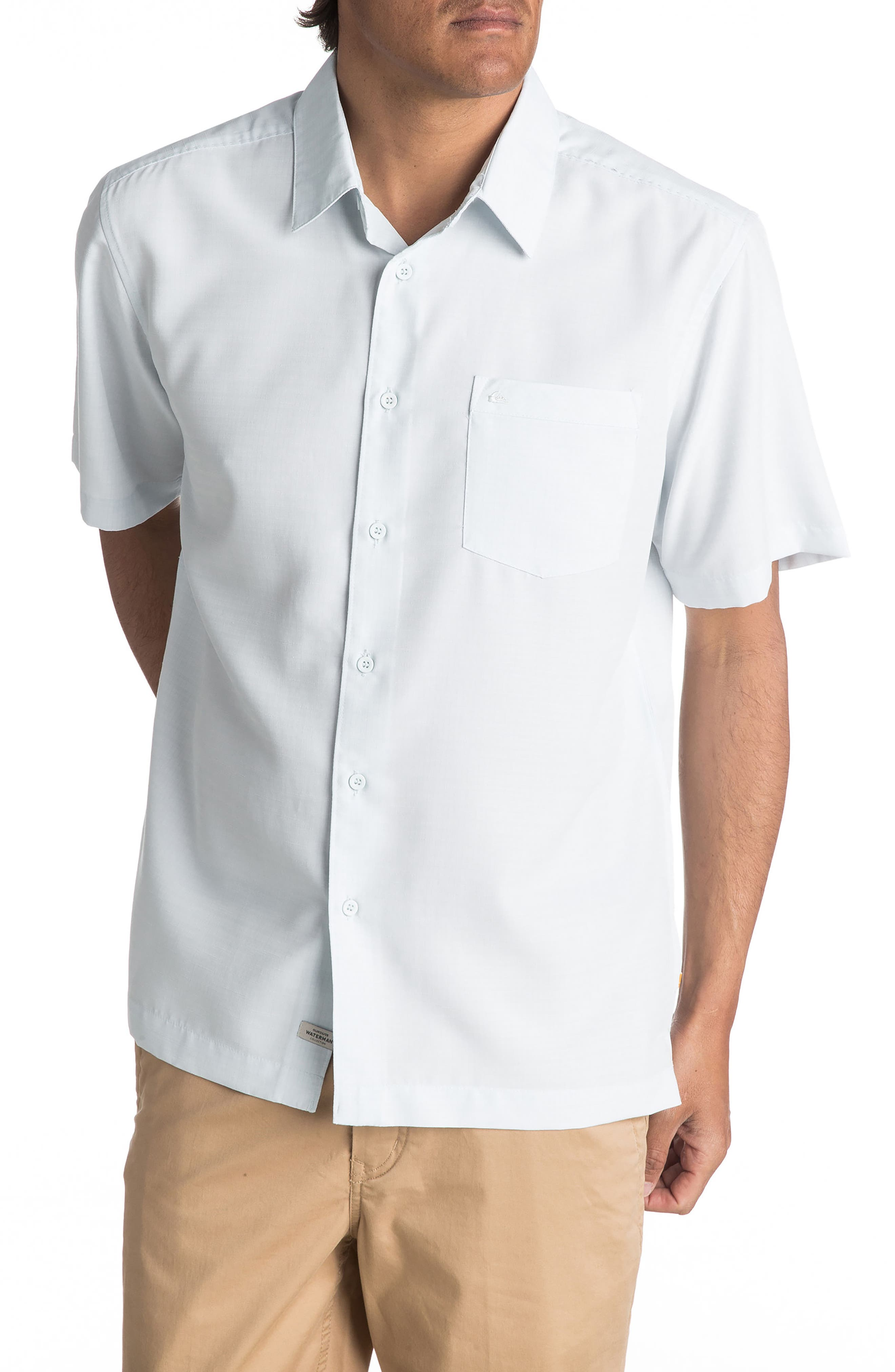 Quiksilver Waterman Collection 'Centinela 4' Short Sleeve Sport Shirt
