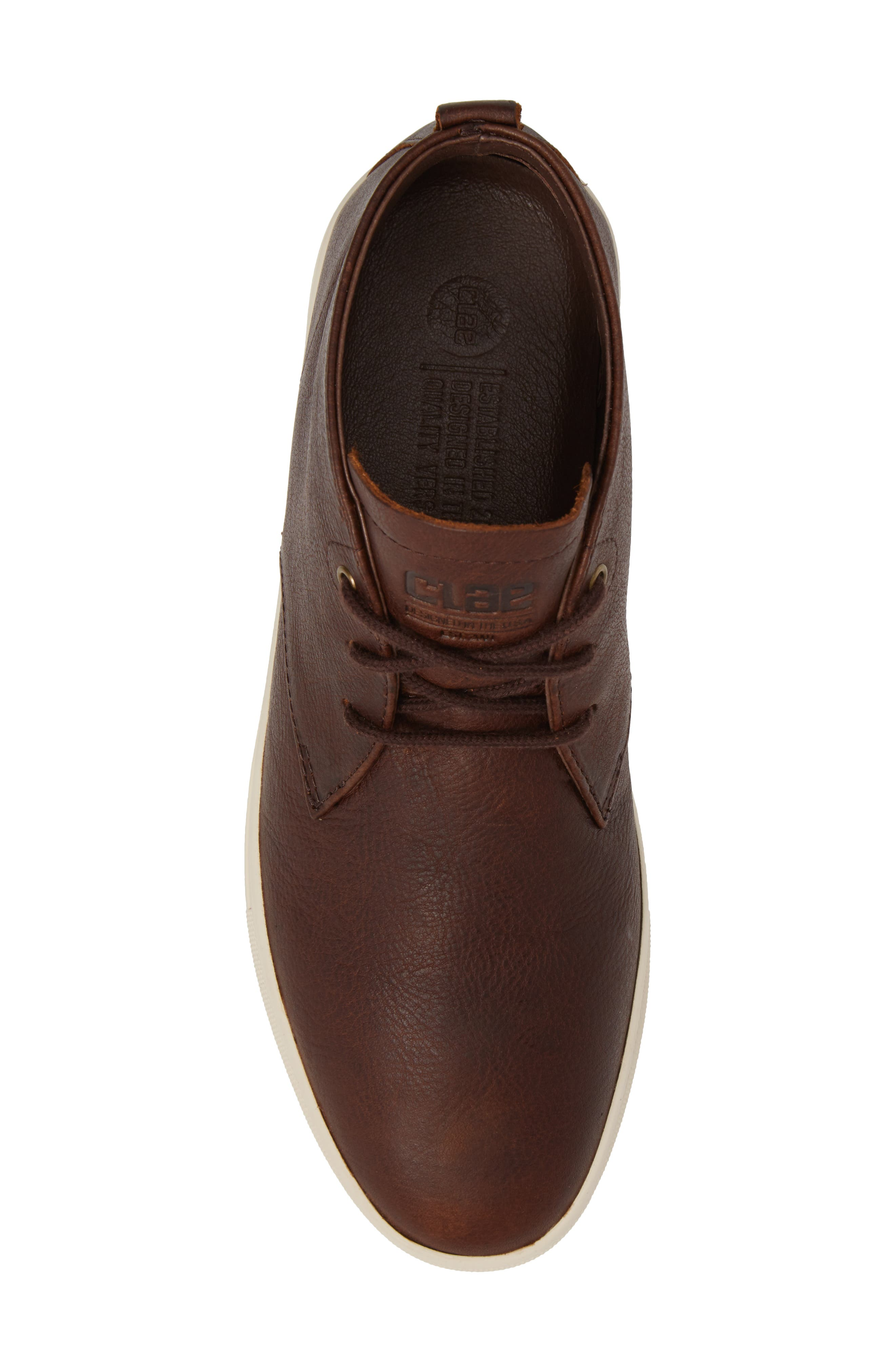 'Strayhorn SP' Chukka Boot,                             Alternate thumbnail 5, color,                             Cocoa Leather