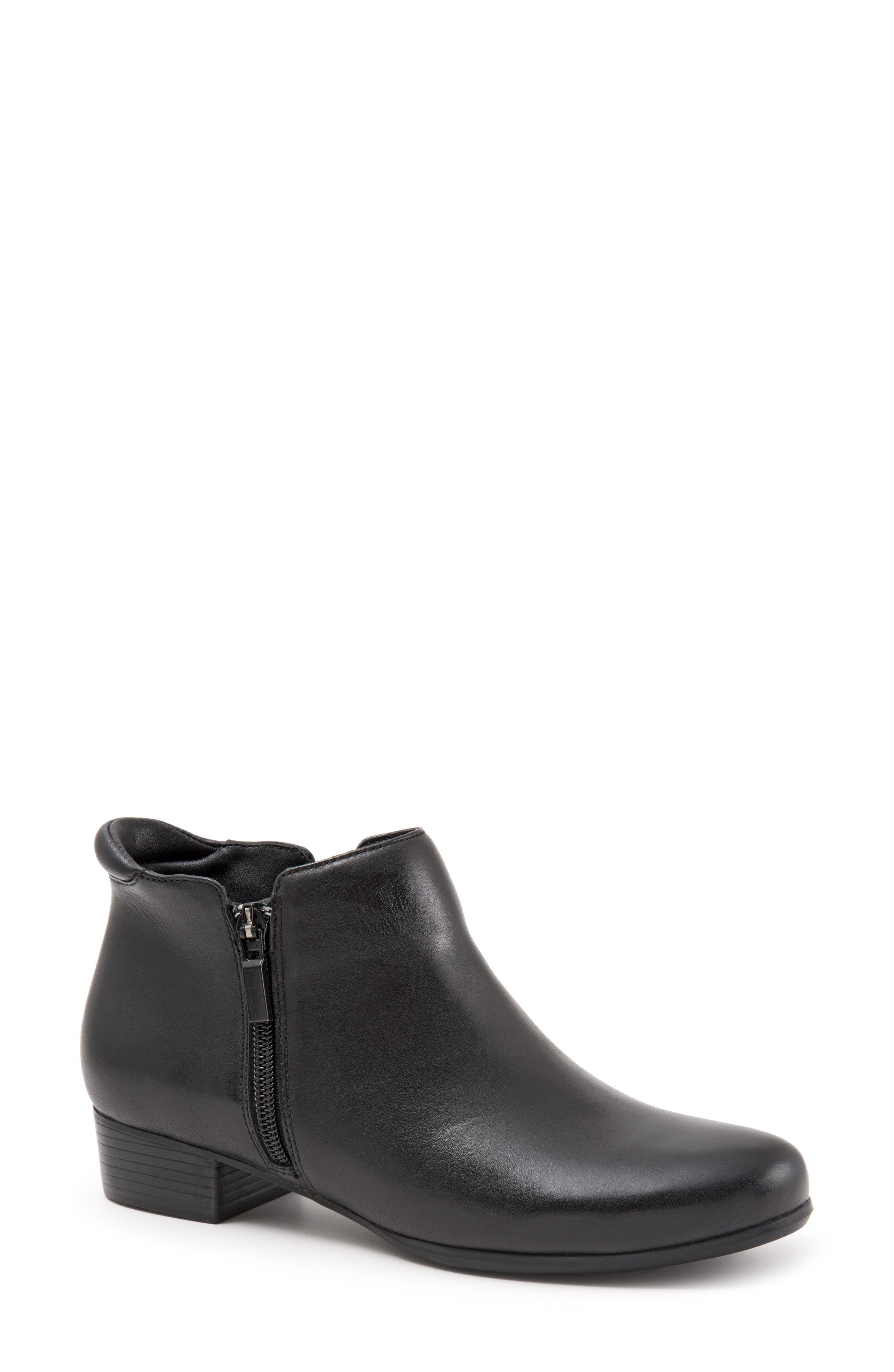 Major Bootie,                         Main,                         color, Black Leather