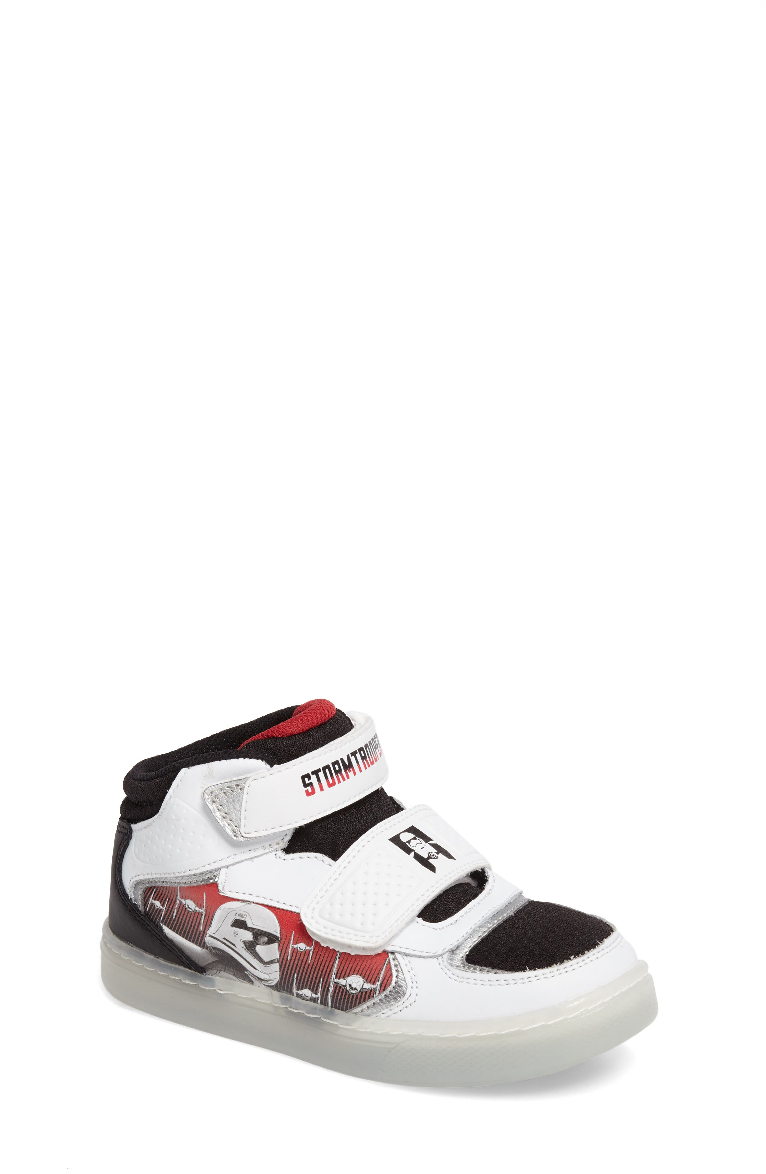 Alternate Image 1 Selected - Stride Rite Star Wars® Stormtropper Galaxy Light-Up Sneaker (Toddler & Little Kid)