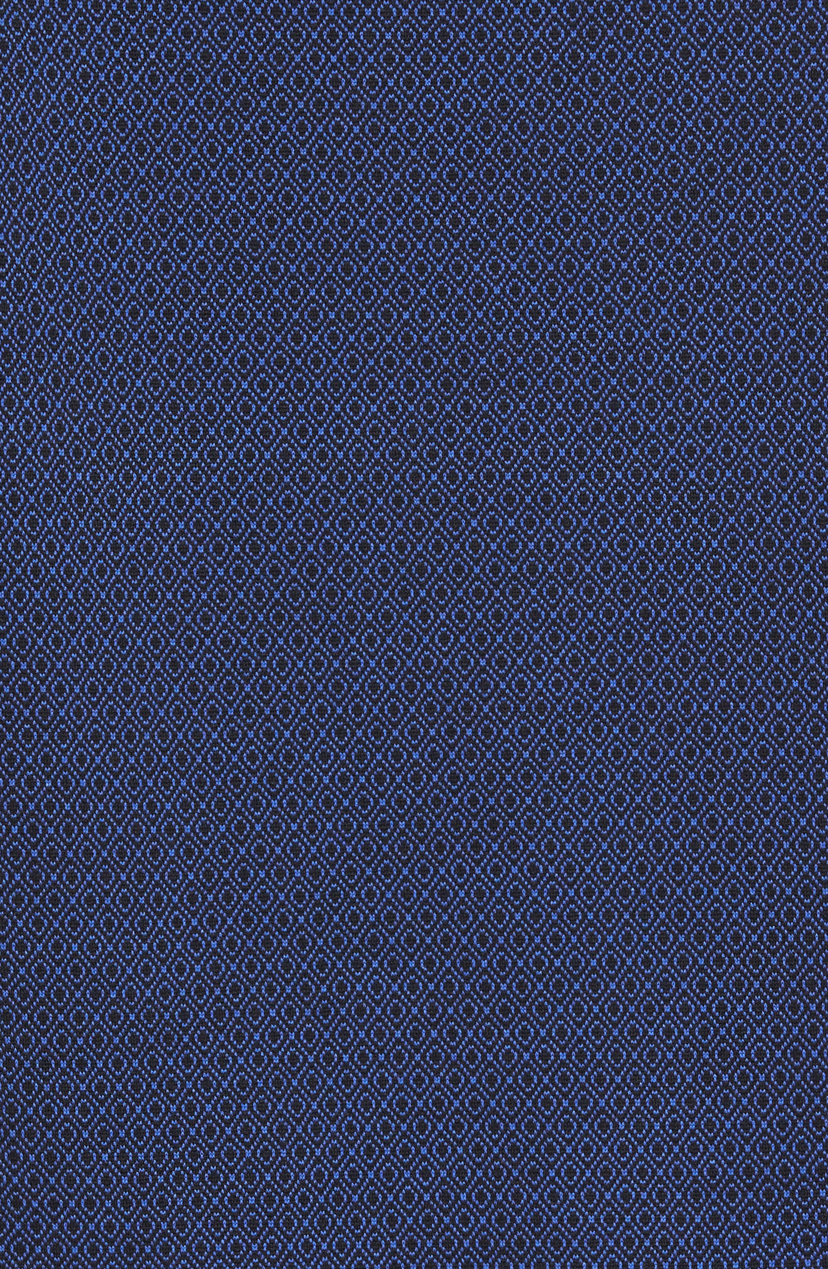 Alternate Image 5  - Stone Rose Slim Fit Dobby Diamond Sport Shirt