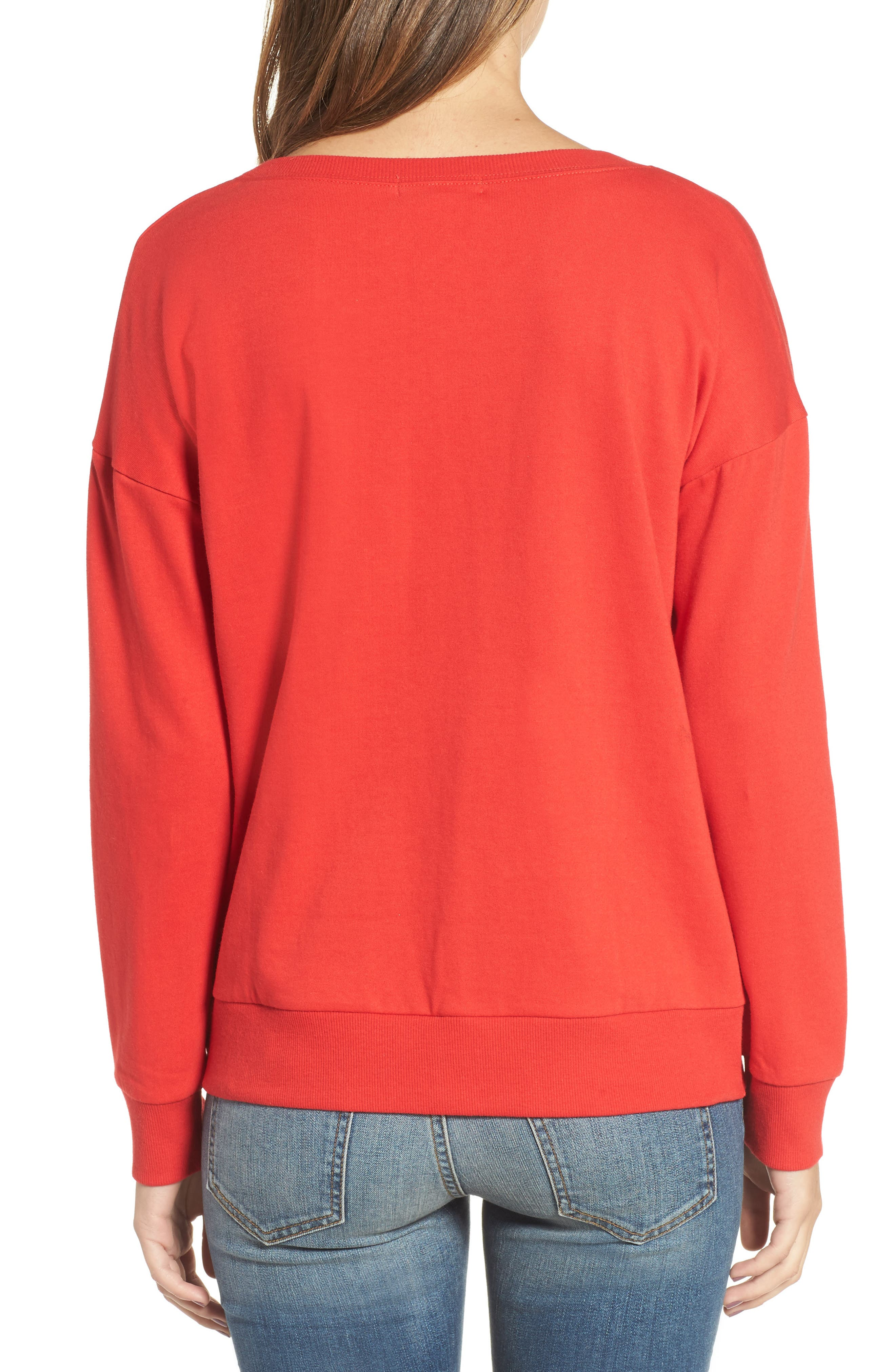 Alternate Image 2  - Socialite Twist Front Pullover