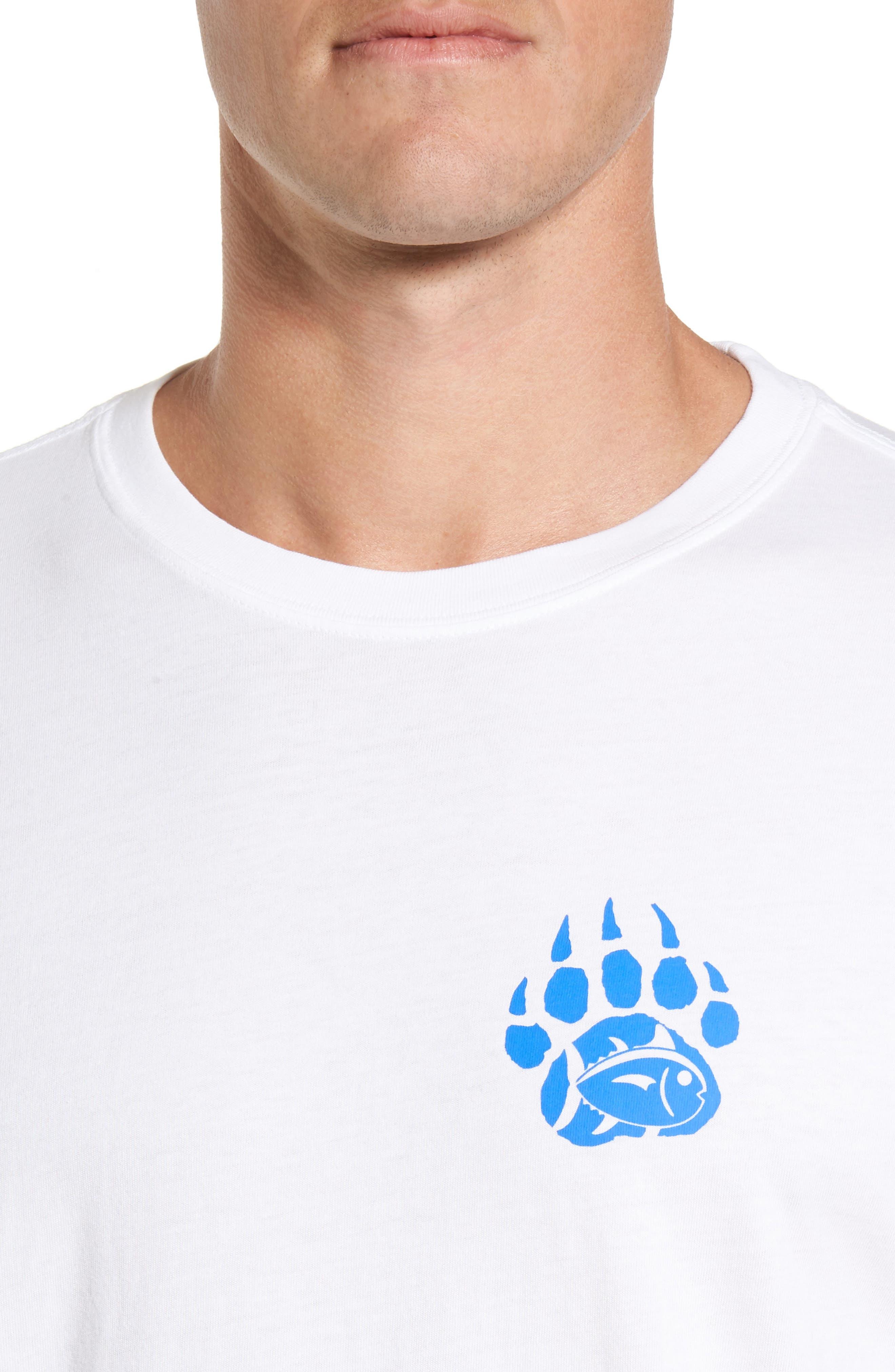 Blue Ridge Bear T-Shirt,                             Alternate thumbnail 4, color,                             Classic White