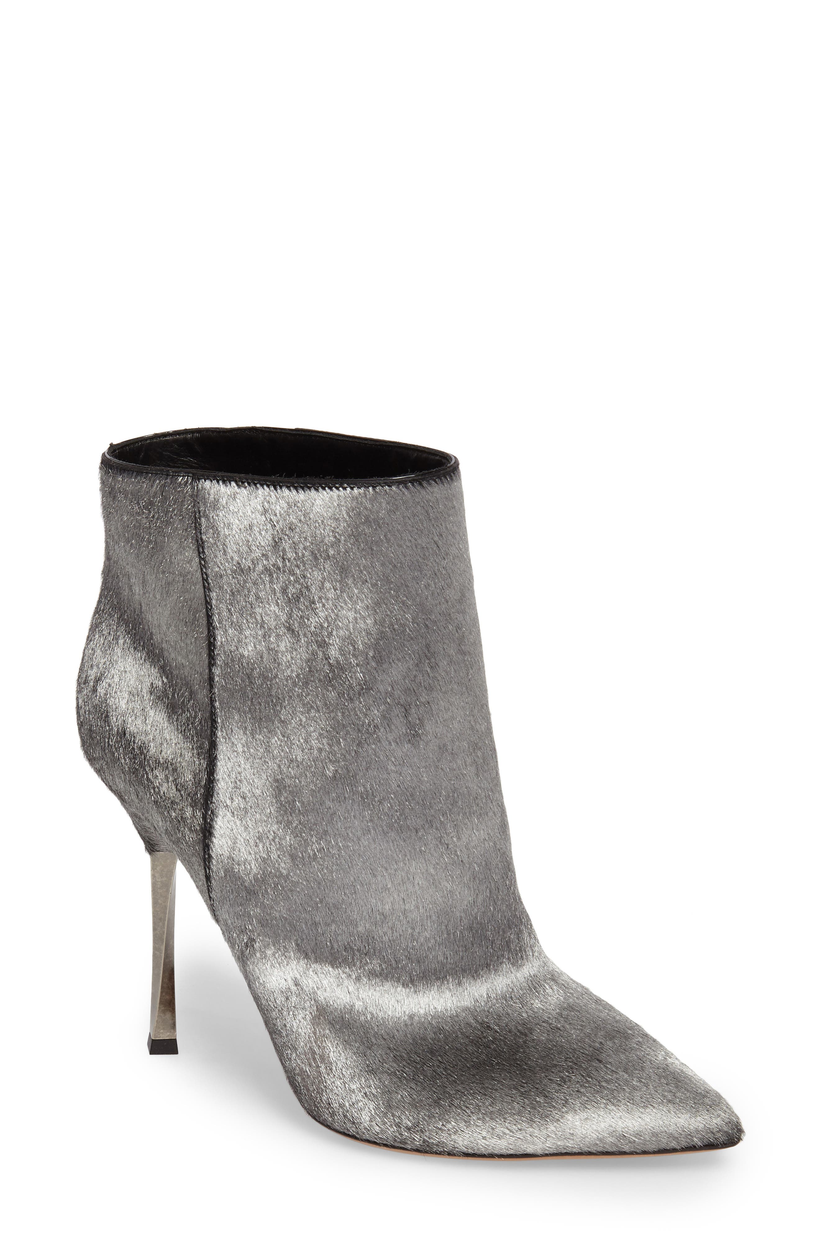 Main Image - VALENTINO GARAVANI Genuine Calf Hair Bootie (Women)