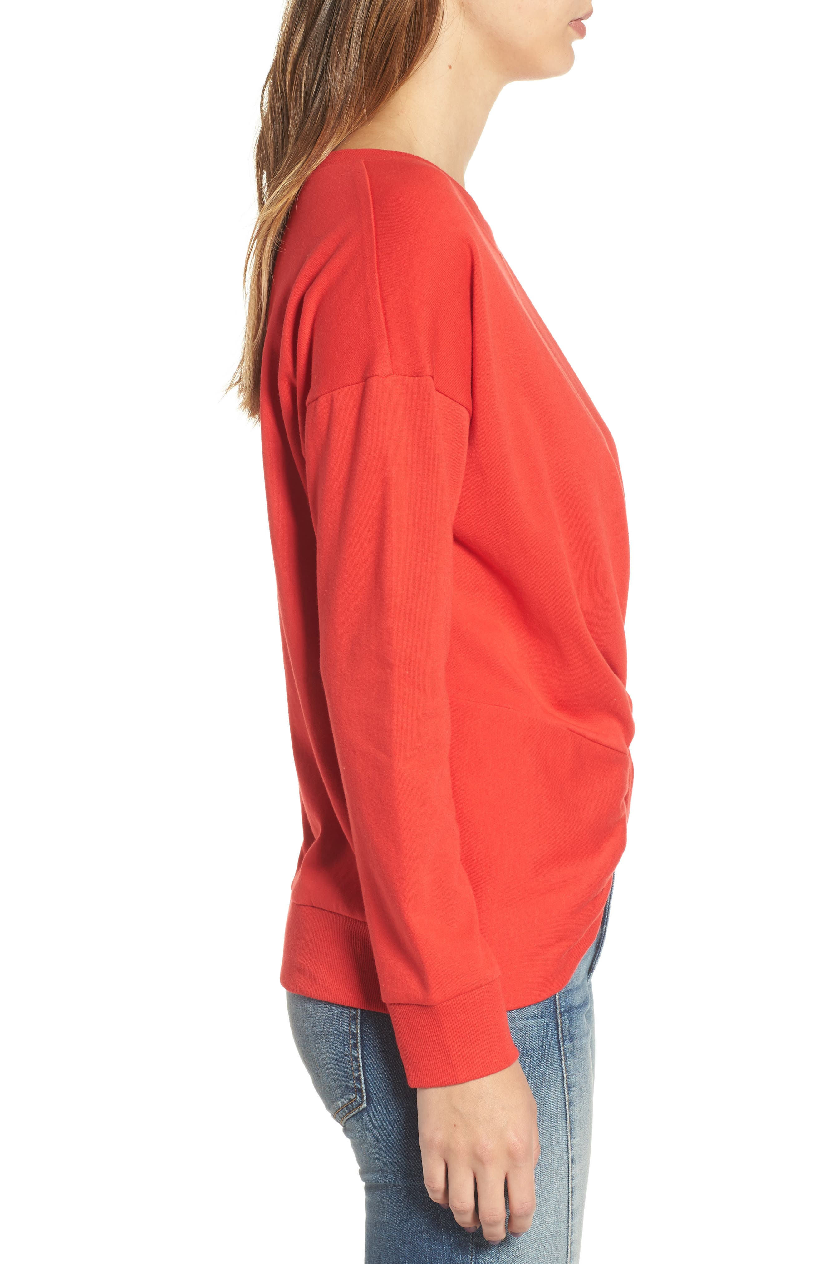 Alternate Image 3  - Socialite Twist Front Pullover