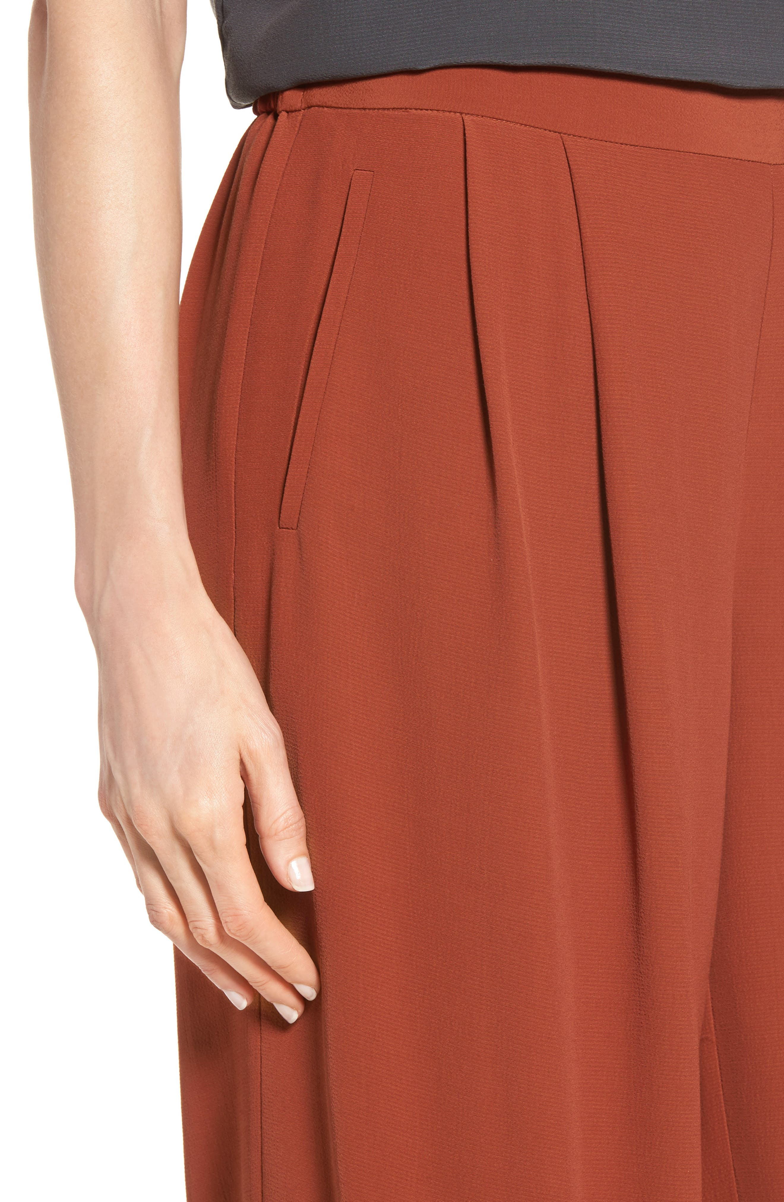 Alternate Image 4  - Eileen Fisher Wide Leg Pants (Regular & Petite)