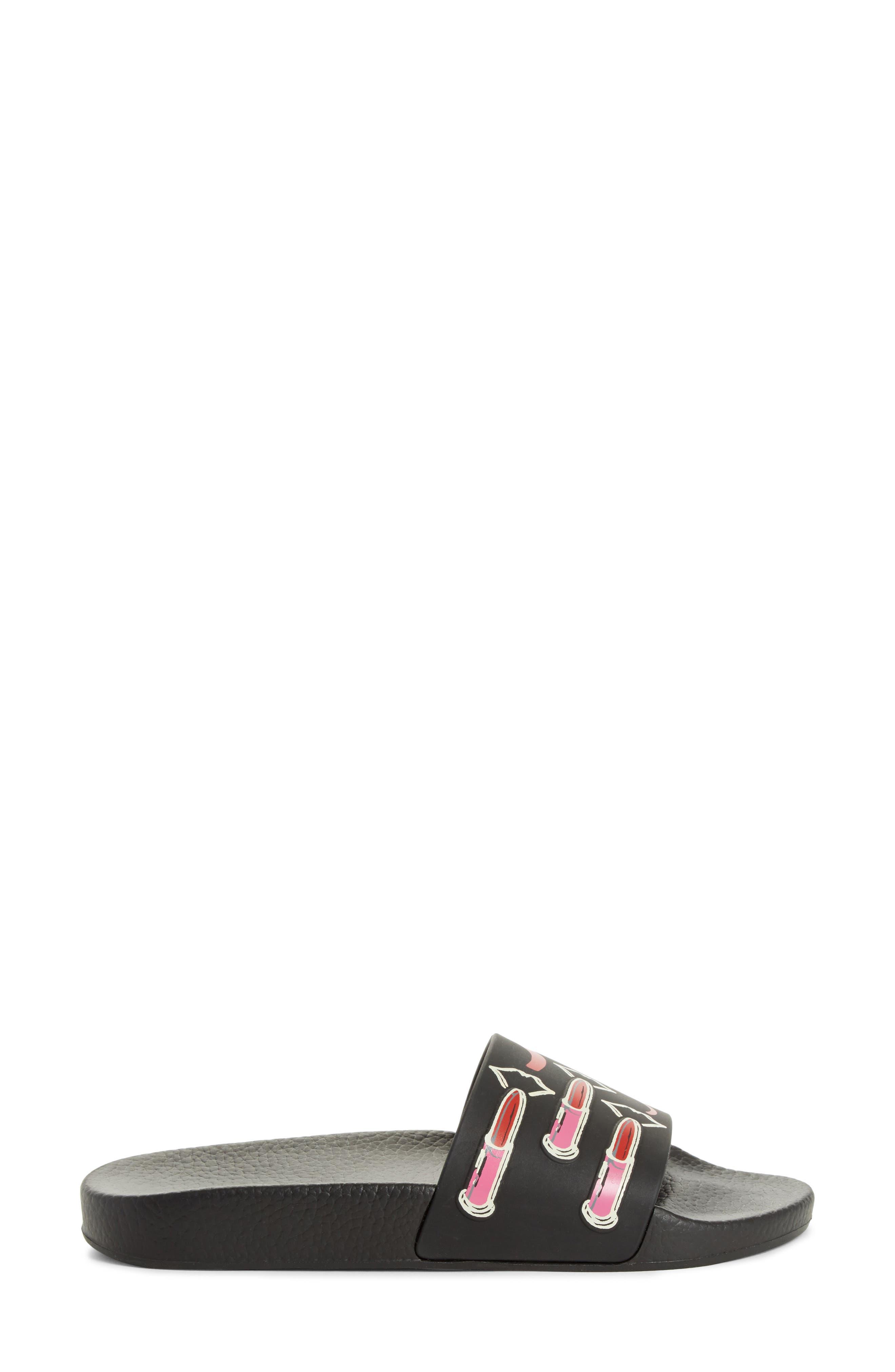 Alternate Image 3  - VALENTINO GARAVANI Lipstick Slide Sandal (Women)