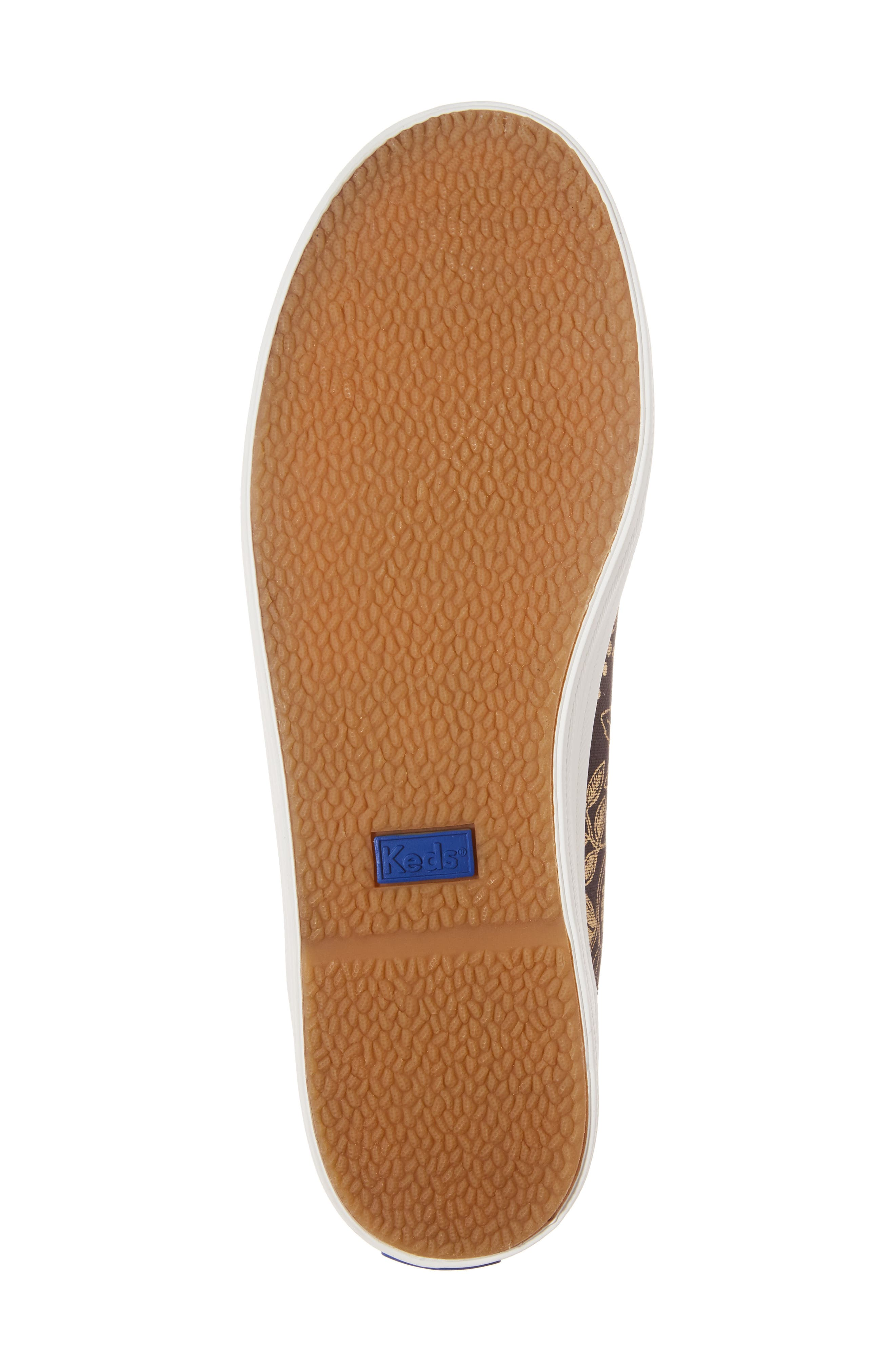 Alternate Image 6  - Keds® x Rifle Paper Co. Queen Anne High Top Sneaker (Women)