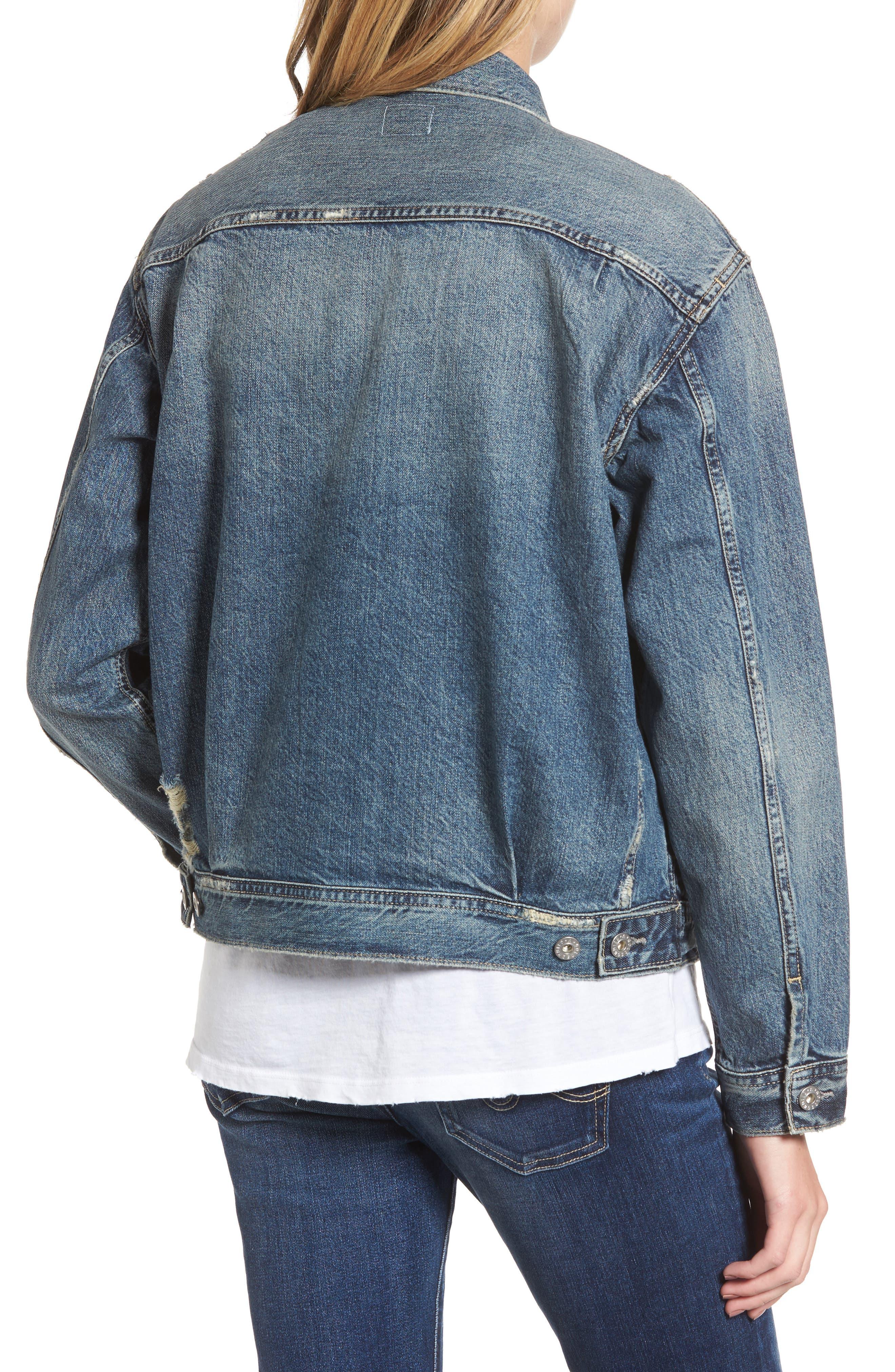 Alternate Image 2  - AG Cassie Denim Jacket
