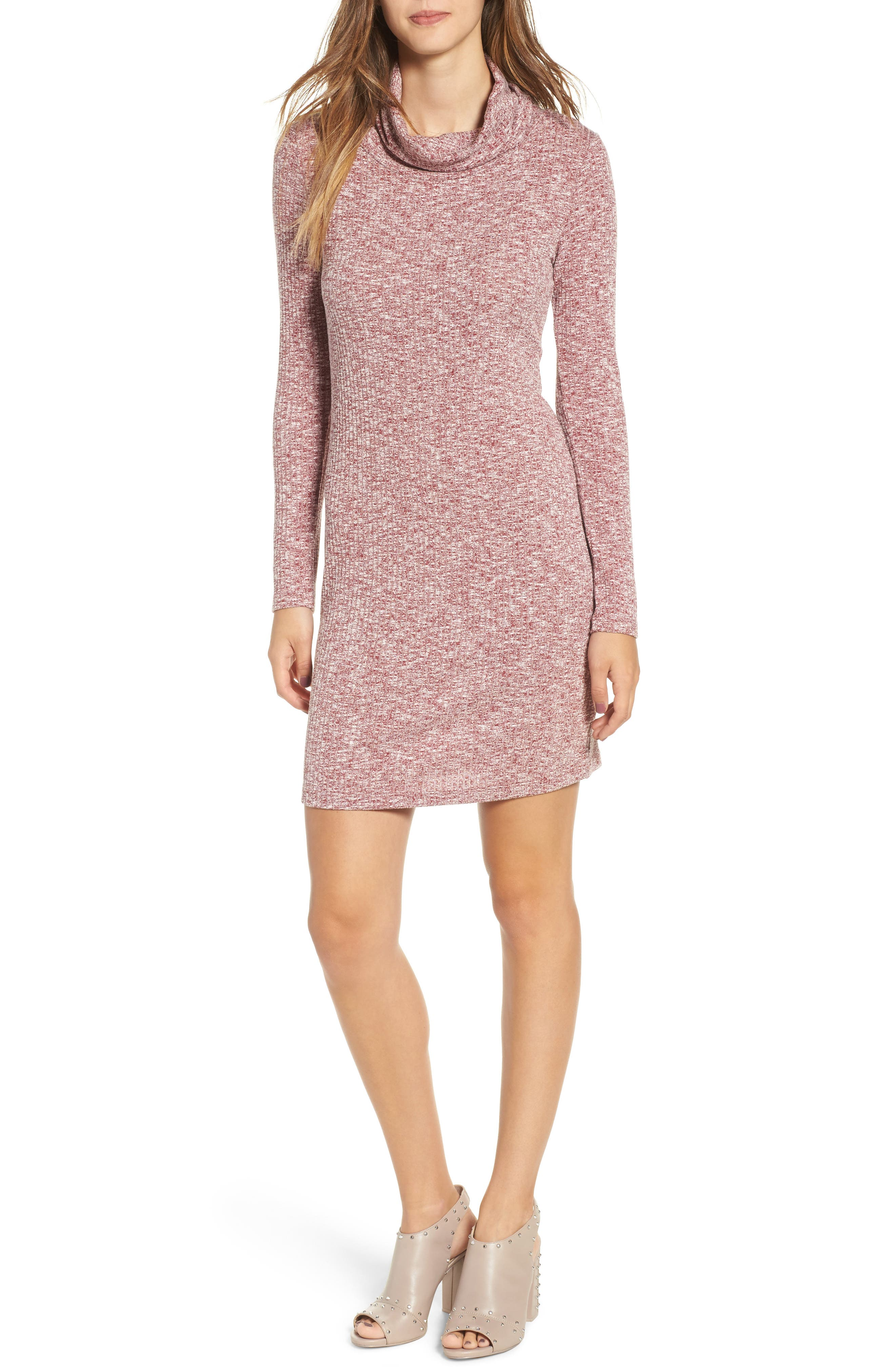 Everly Knit Turtleneck Dress