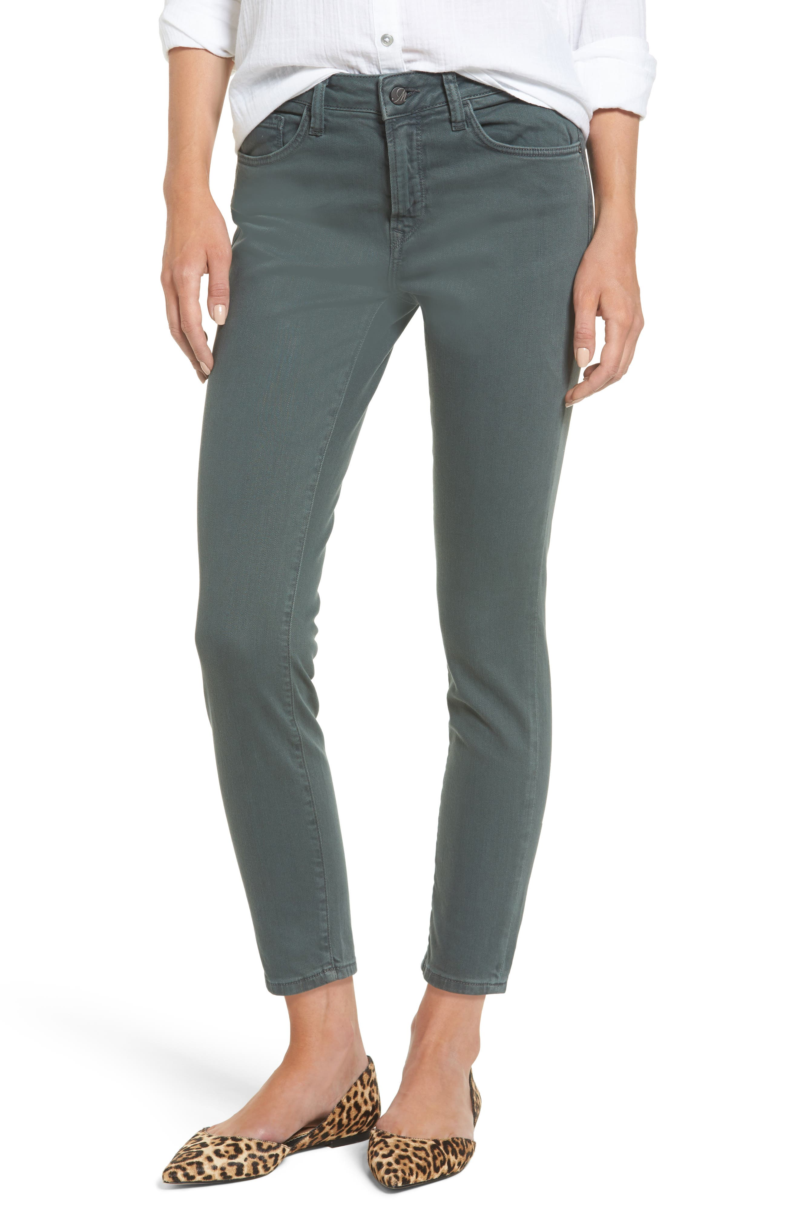 Mavi Jeans Tess Colored Skinny Crop Jeans