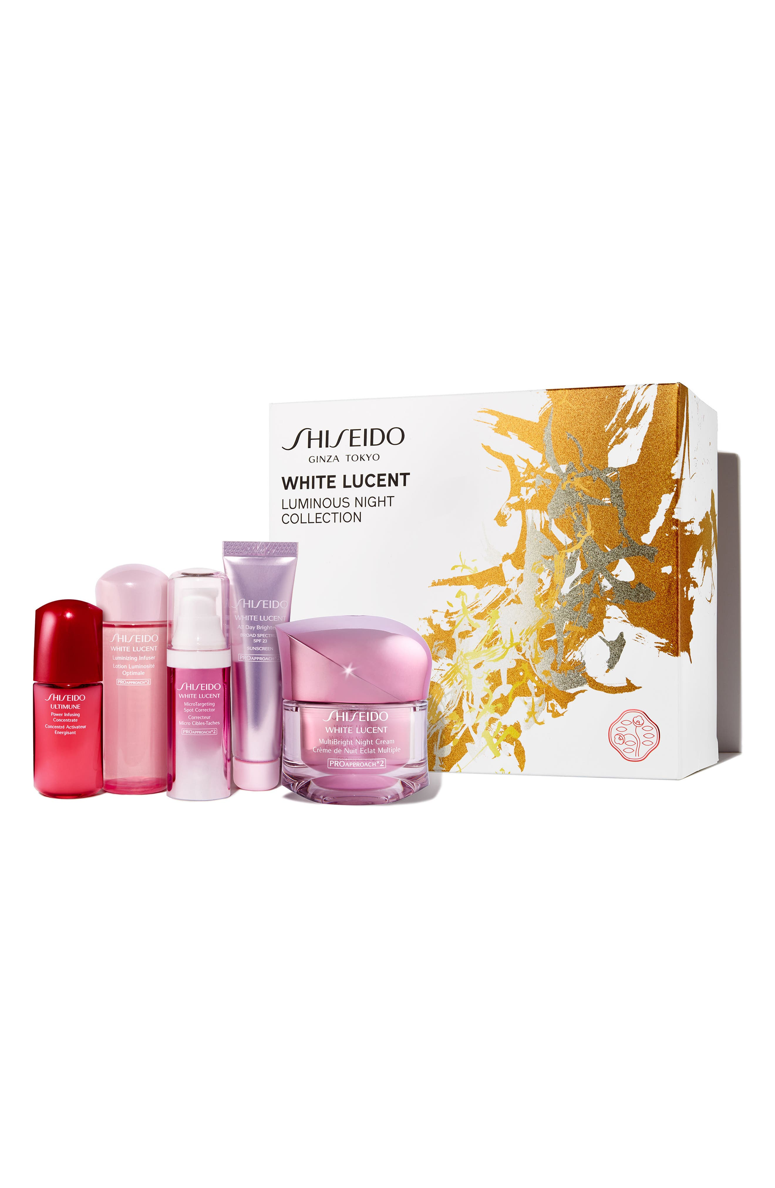 Alternate Image 1 Selected - Shiseido Luminous Night Collection ($178 Value)