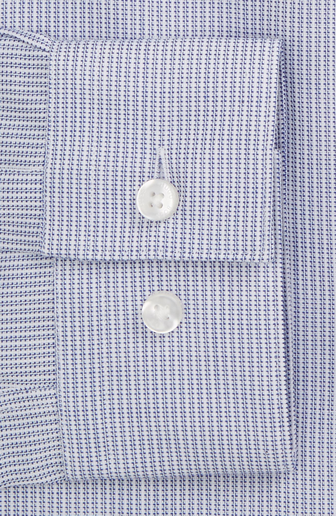 Alternate Image 2  - BOSS Isko Slim Fit Print Dress Shirt