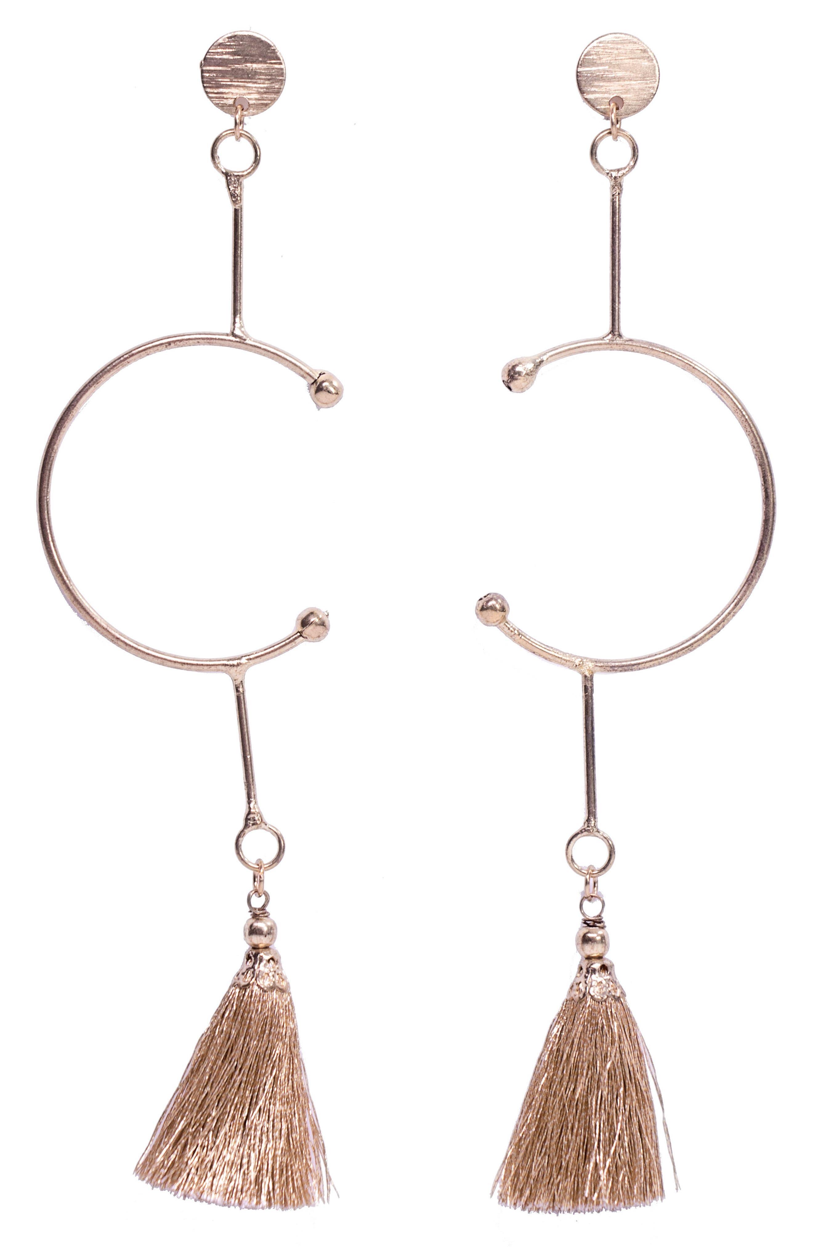 Alternate Image 1 Selected - Area Stars Mila Tassel Drop Earrings