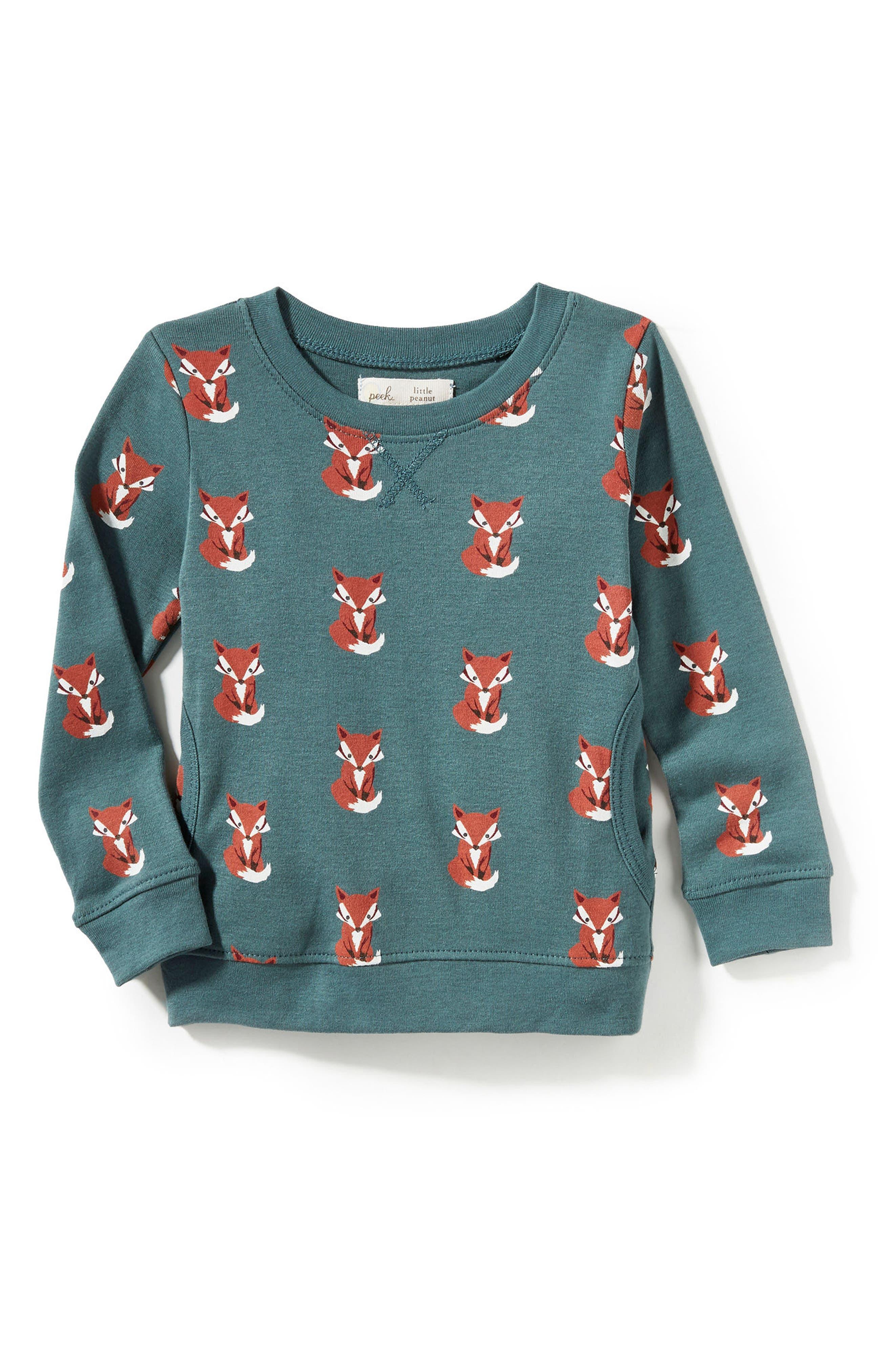 Peek Baby Fox Graphic Tee (Baby Boys)