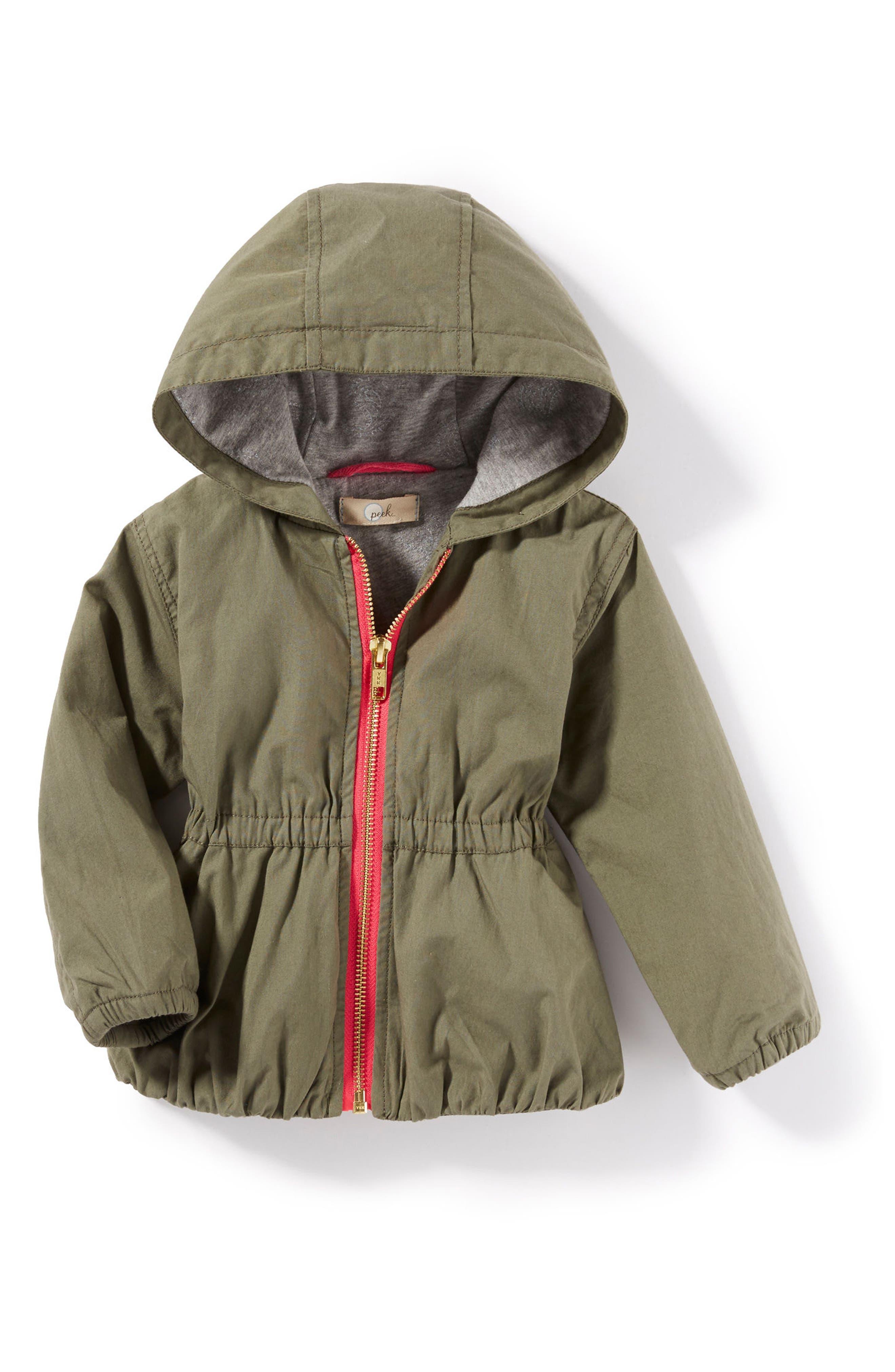 Peek Gwen Hooded Jacket (Baby Girls)