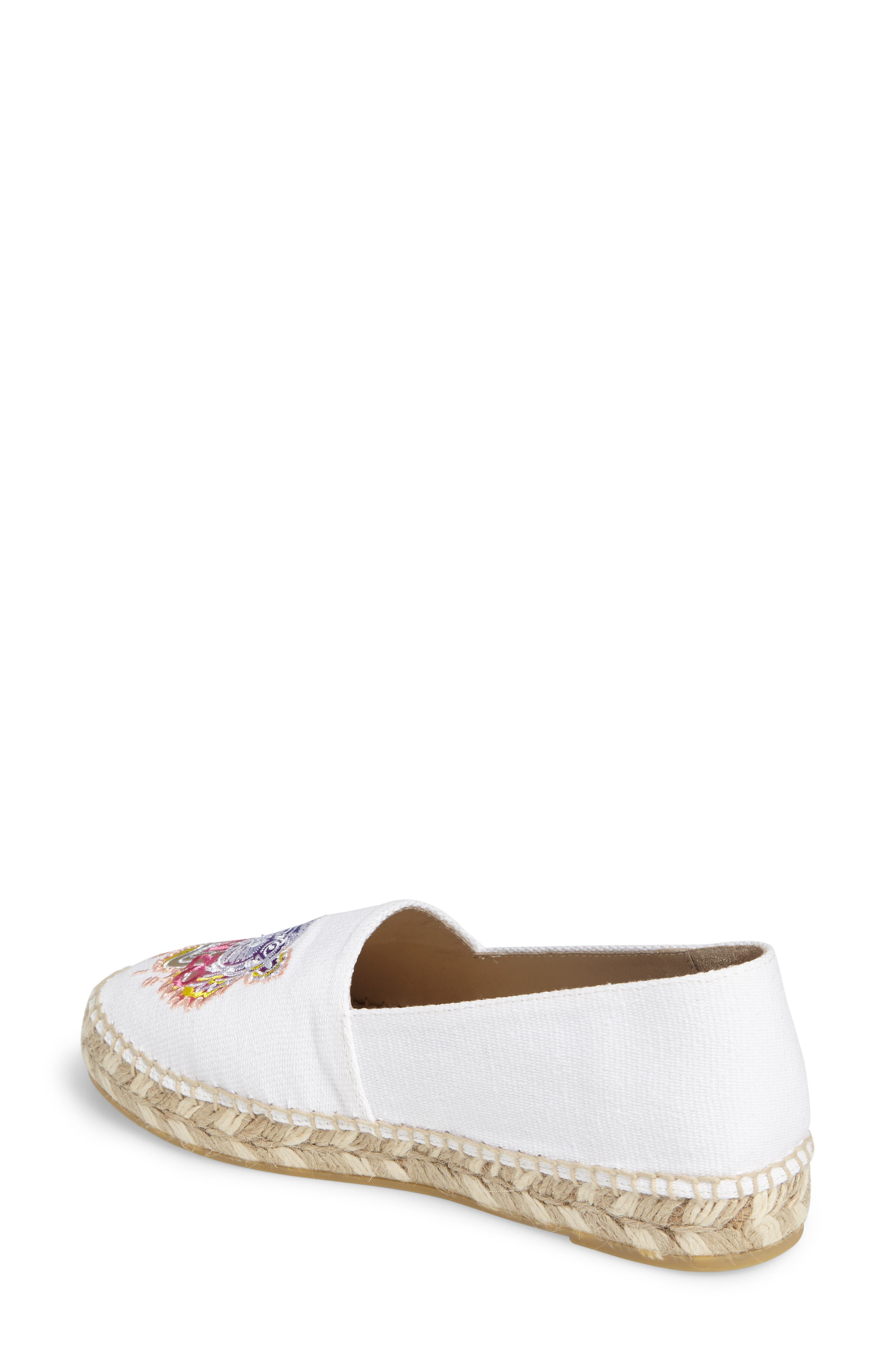 Alternate Image 2  - KENZO Rainbow Tiger Embroidered Espadrille (Women)