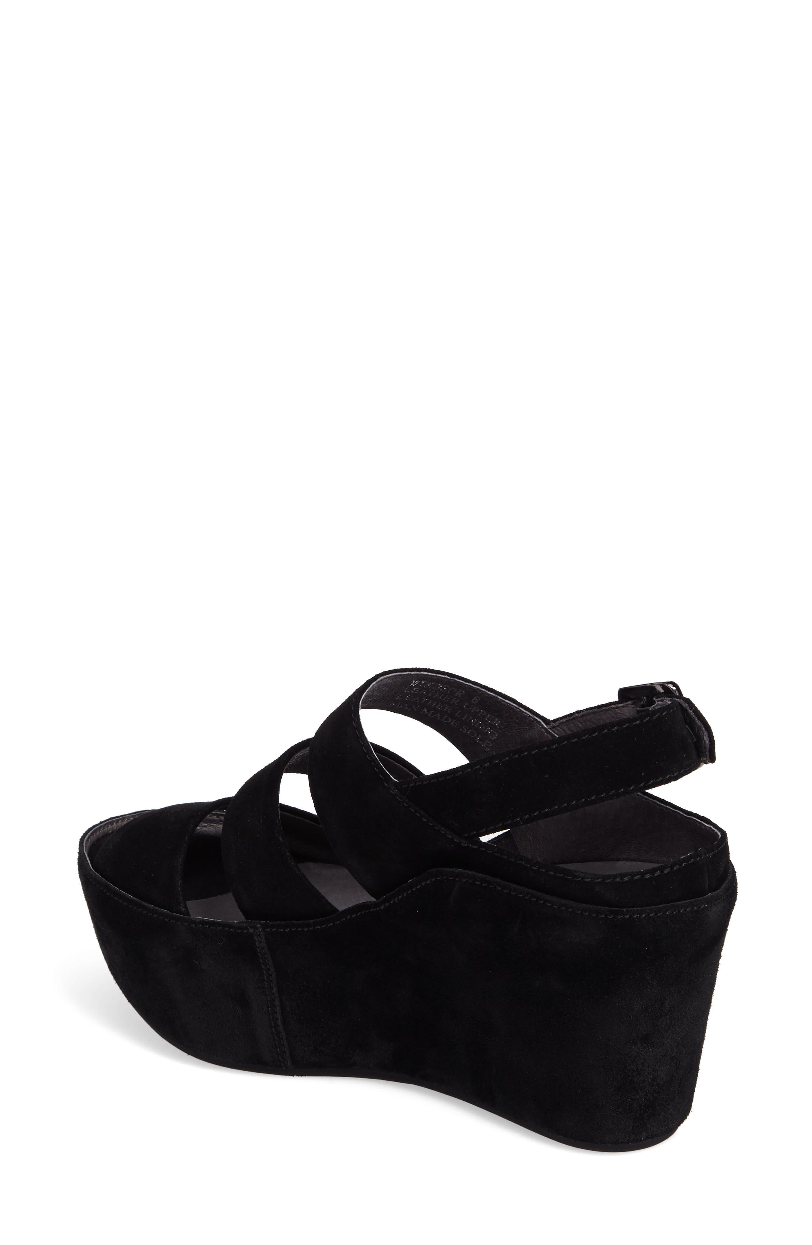 Alternate Image 2  - Chocolat Blu Windsor Platform Wedge Sandal (Women)
