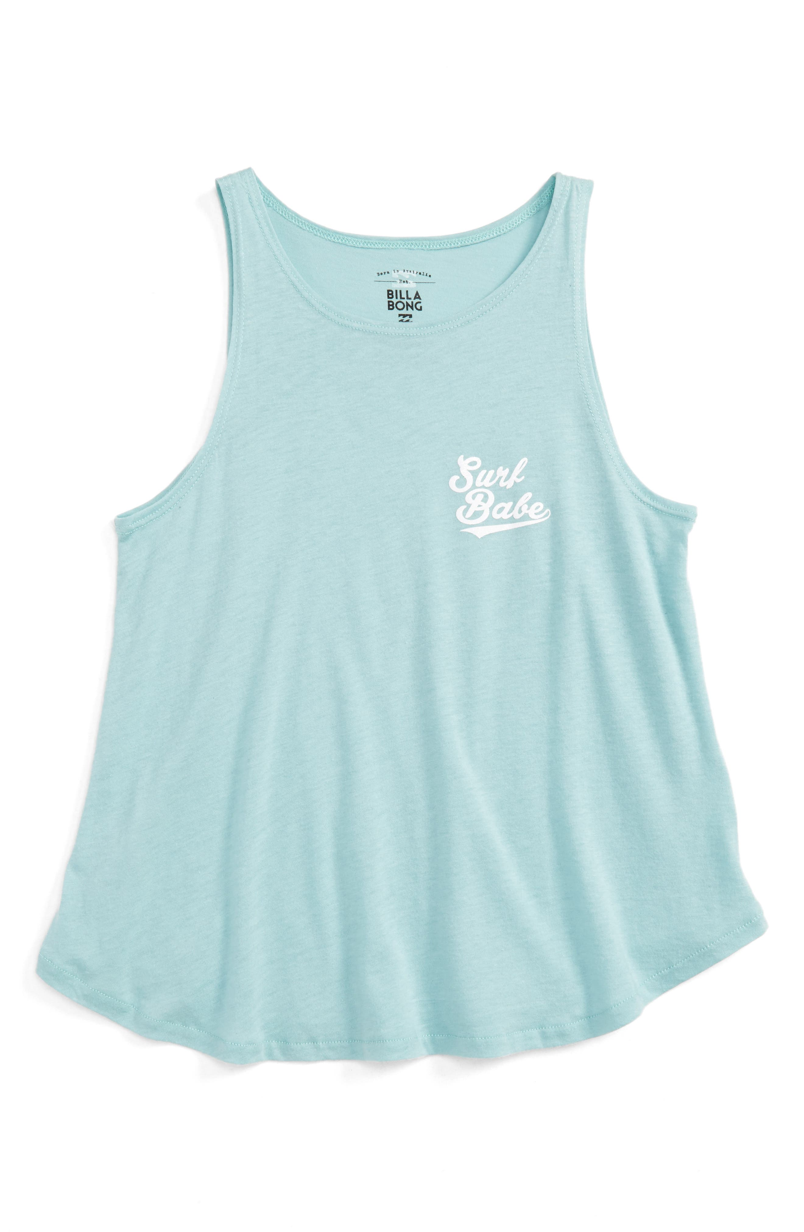 Main Image - Billabong Surf Babe Graphic Tank (Little Girls & Big Girls)