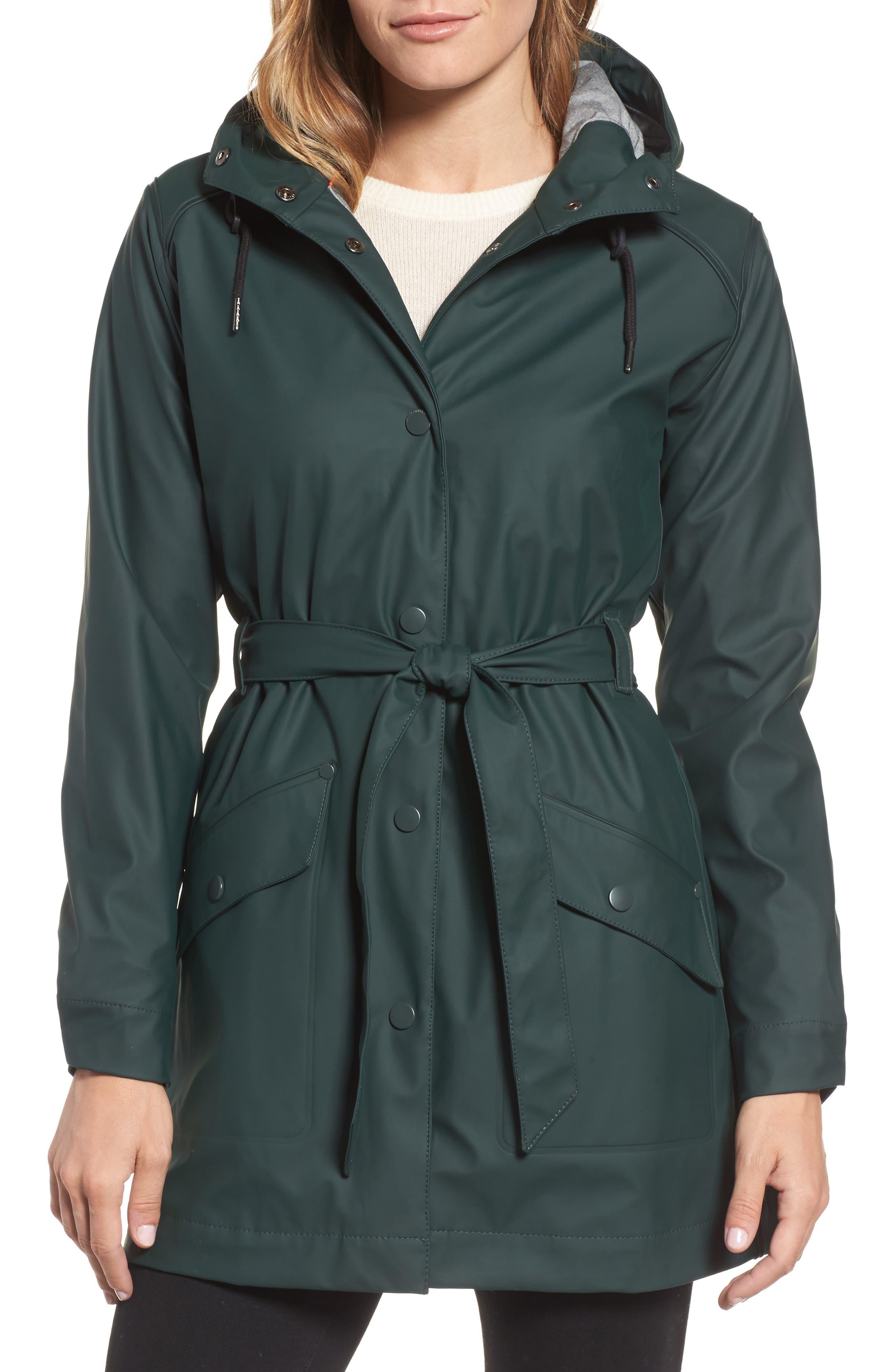 Kirkwall Raincoat,                         Main,                         color, Darkest Spruce