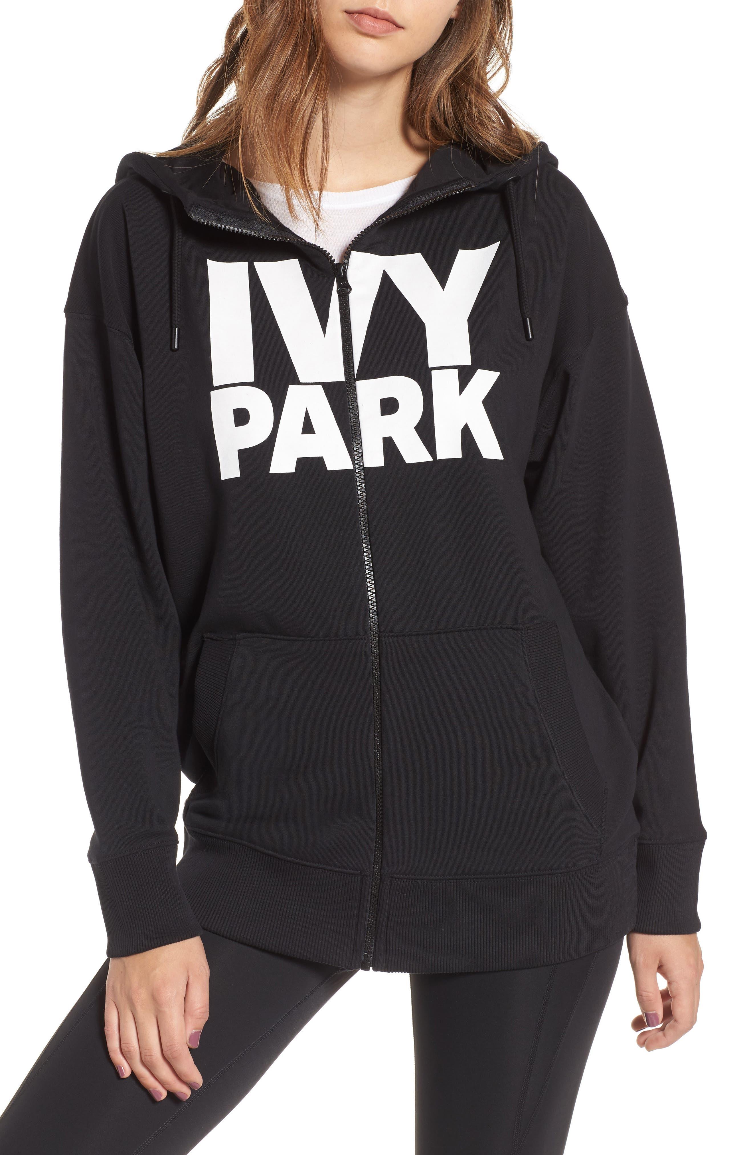Alternate Image 5  - IVY PARK® Logo Zip Hoodie