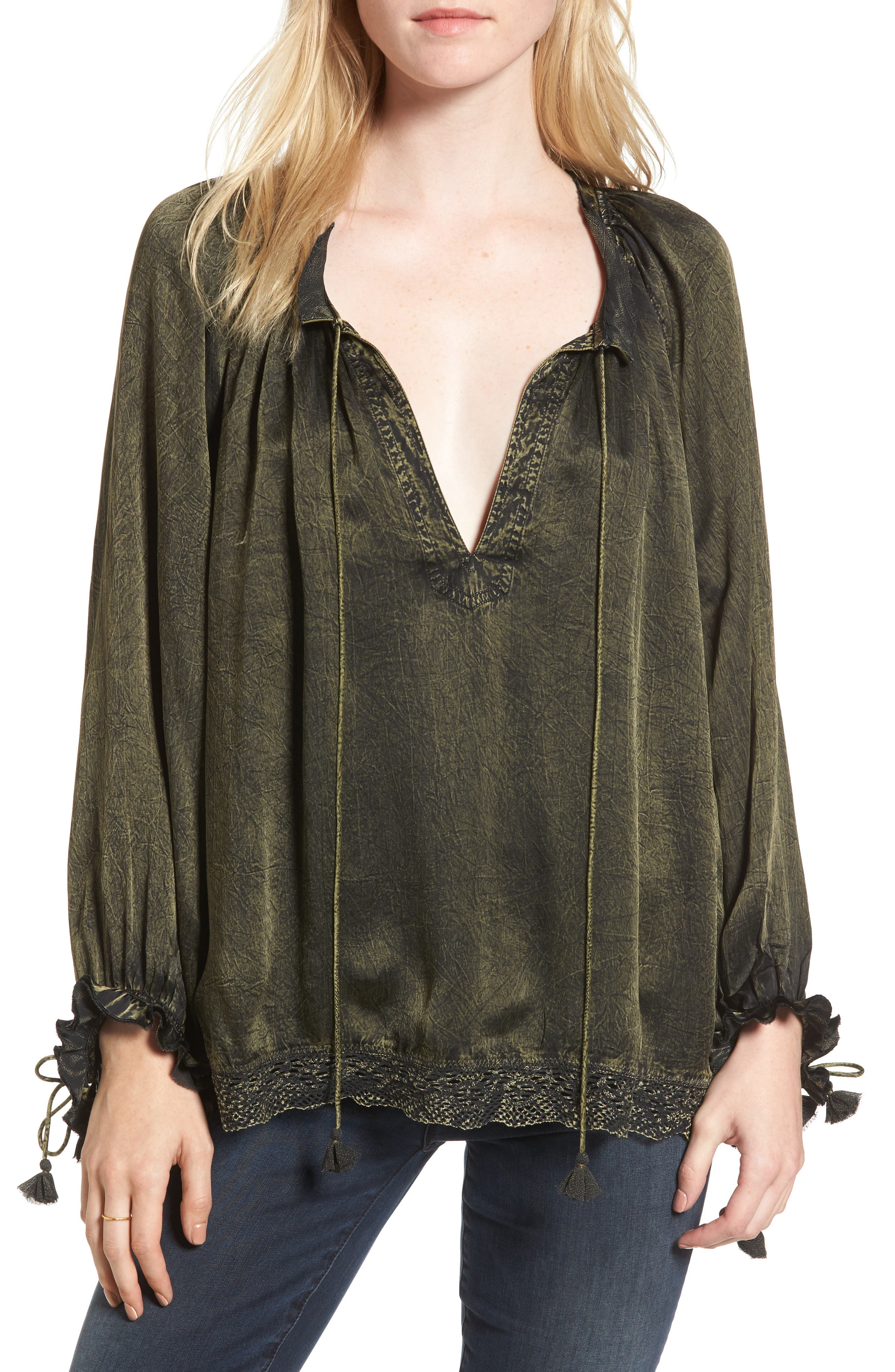 Main Image - Zadig & Voltaire Theresa Blouse