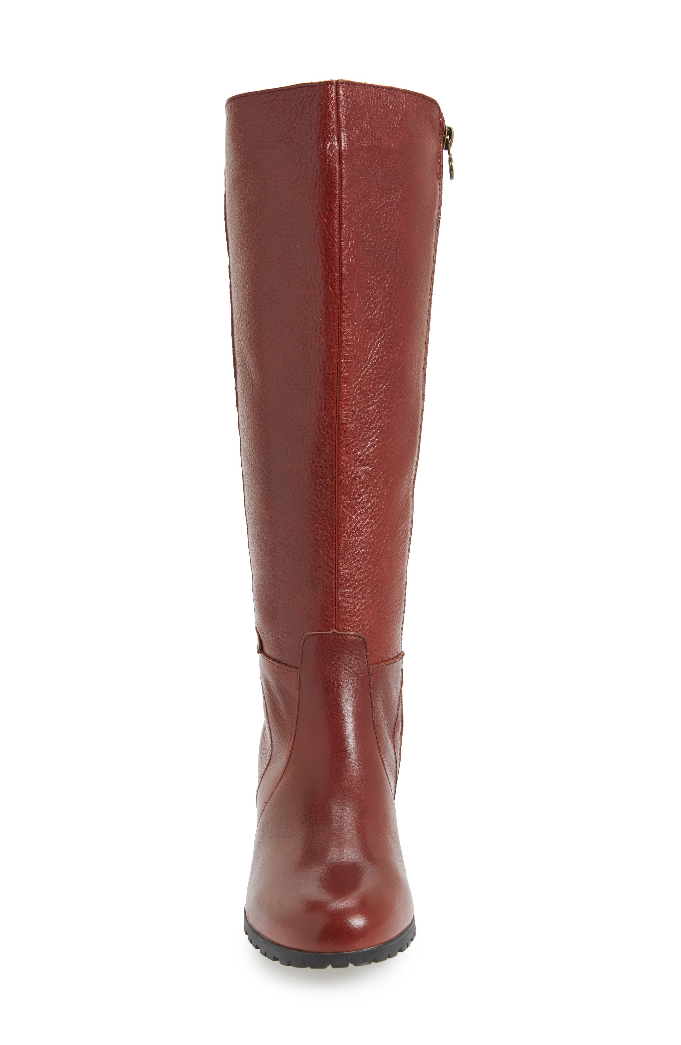 Chai Water-Resistant Boot,                             Alternate thumbnail 4, color,                             Whisky Leather