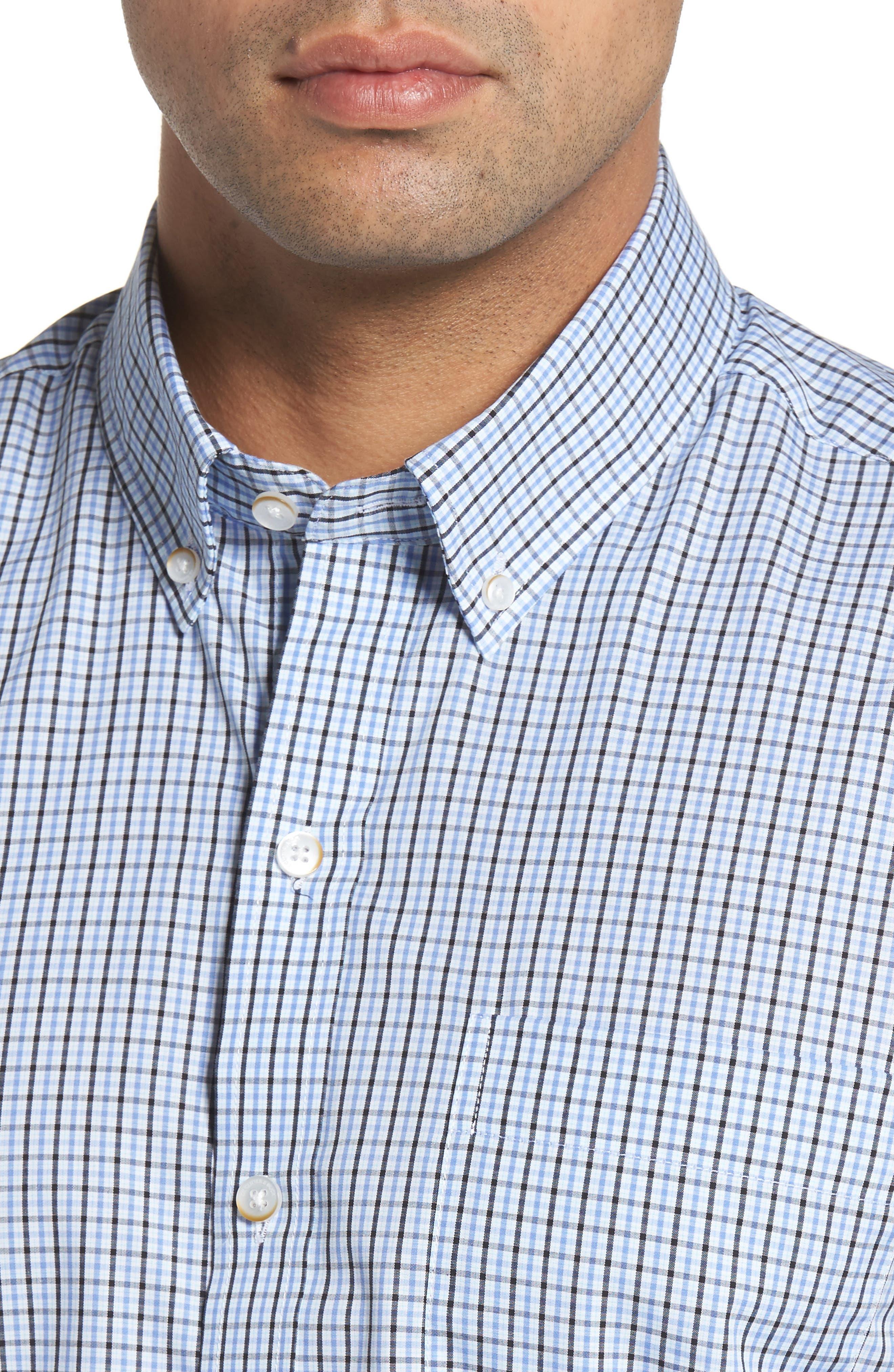 Easton Check Non-Iron Sport Shirt,                             Alternate thumbnail 2, color,                             Wisteria