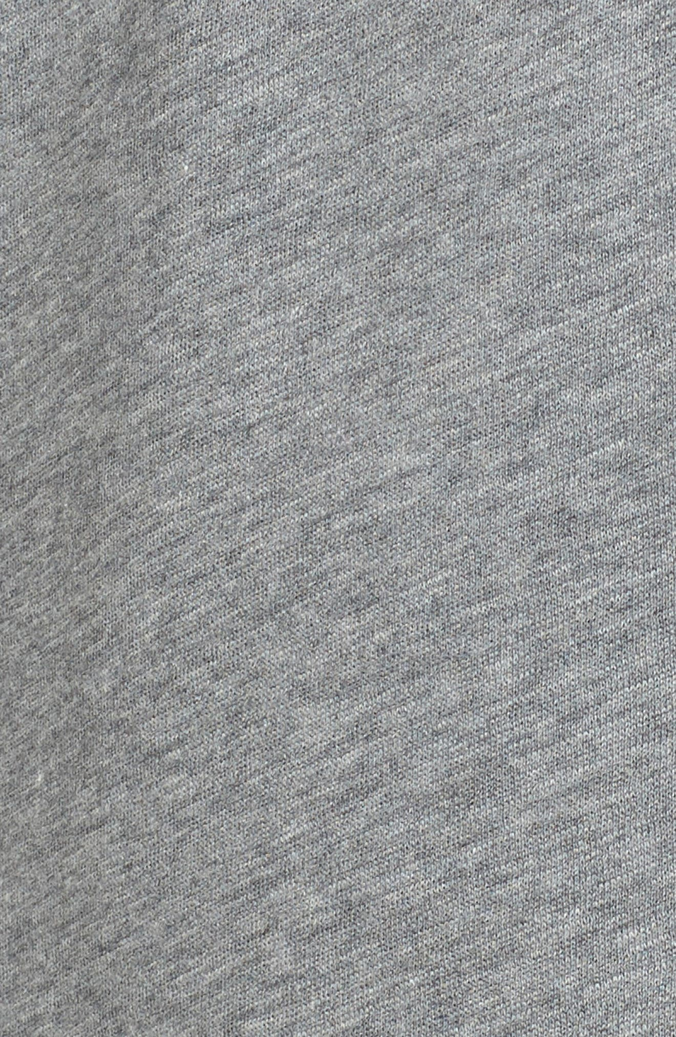 Alternate Image 5  - Lacoste Brushed Fleece Hoodie