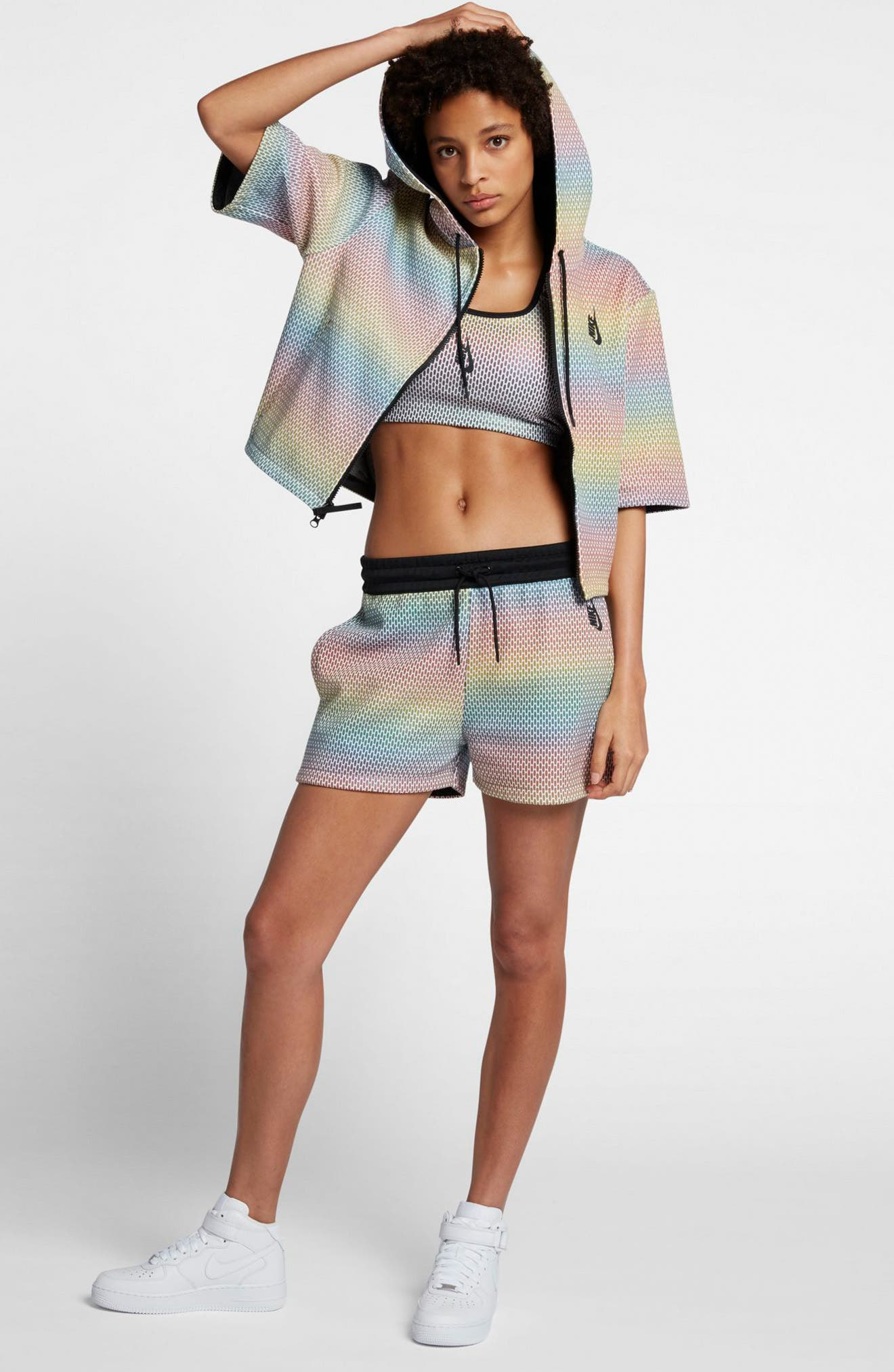Alternate Image 5  - Nike Lab Oil Slick Shorts