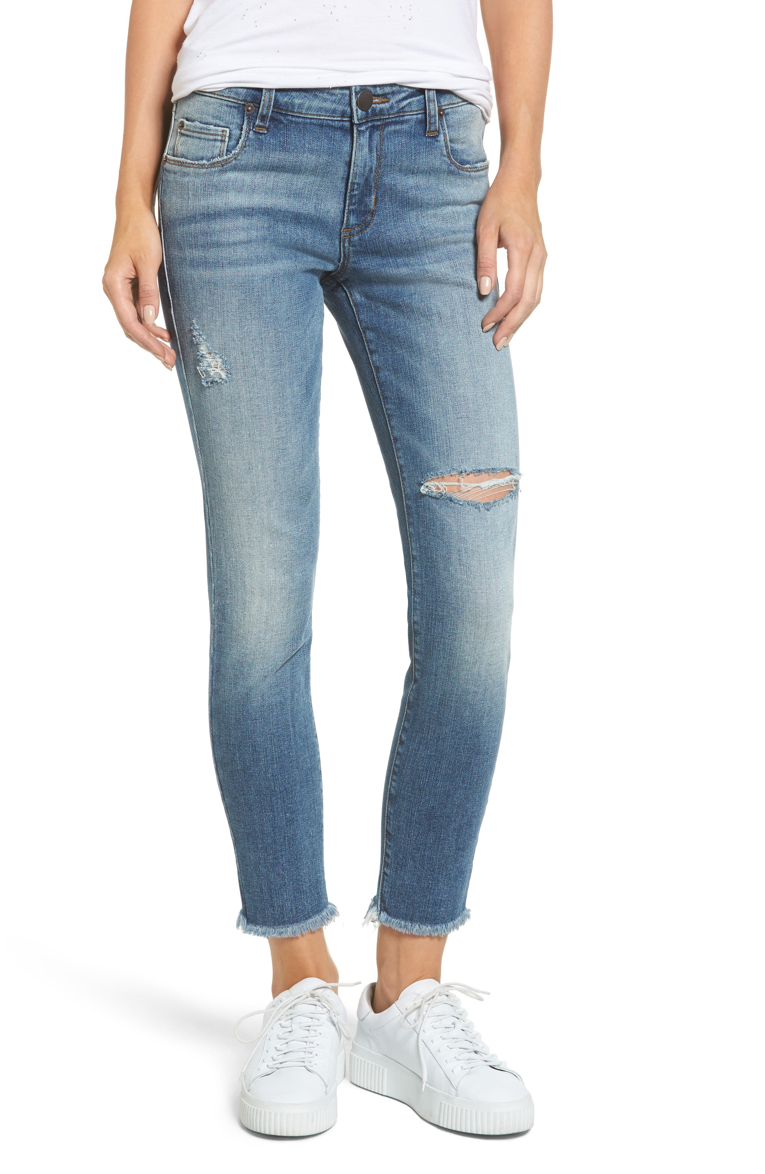 STS Blue Taylor You Wish Ripped High Waist Jeans (North Randolph)