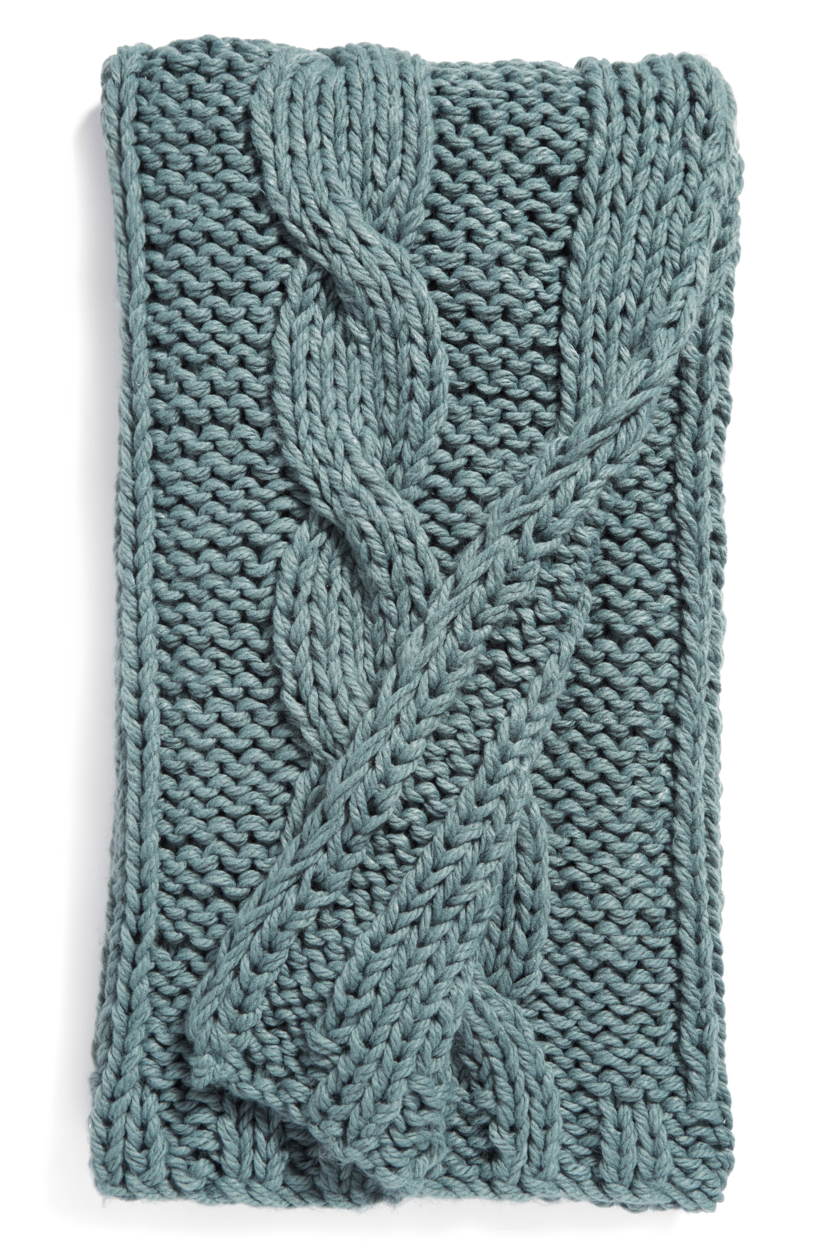 Nordstrom at Home Grand Cable Throw