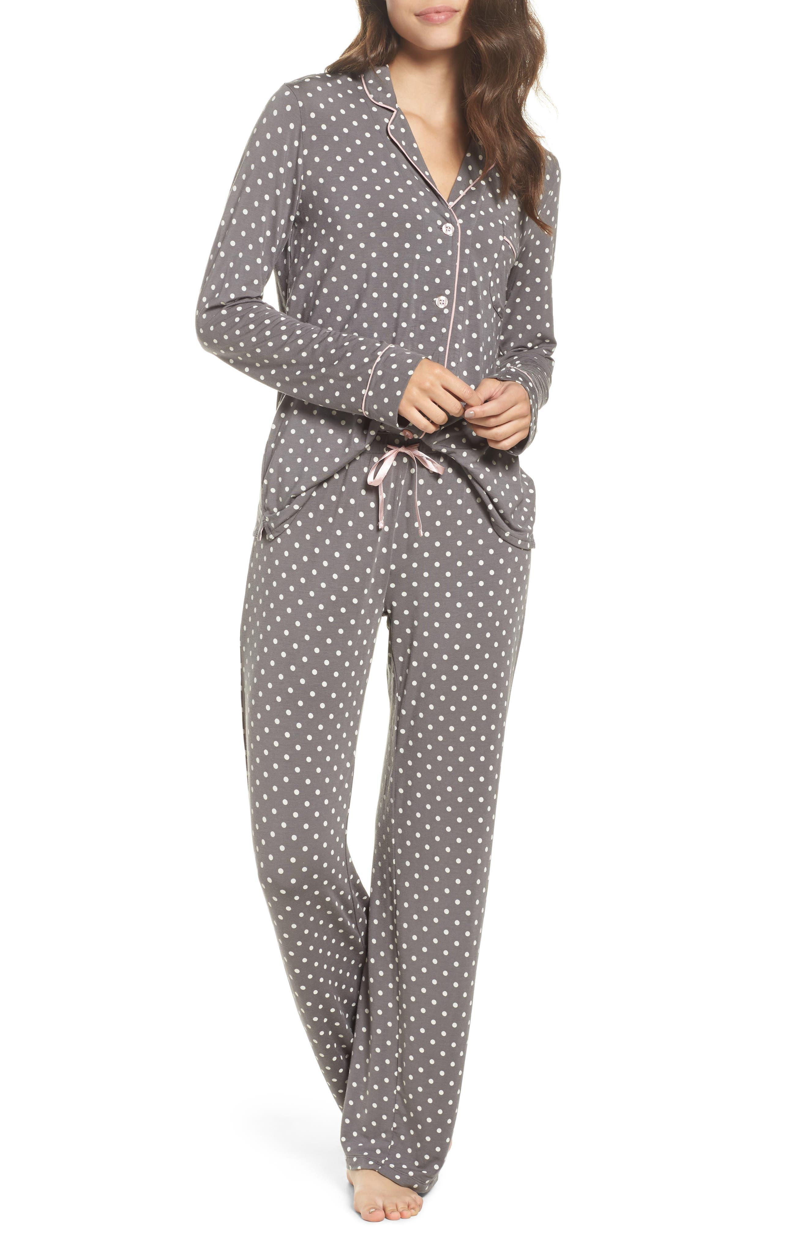 Alternate Image 1 Selected - PJ Salvage Long Pajamas