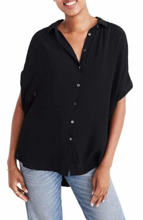 6078dd1b2 Madewell Central Drapey Shirt (Regular & Plus Size)