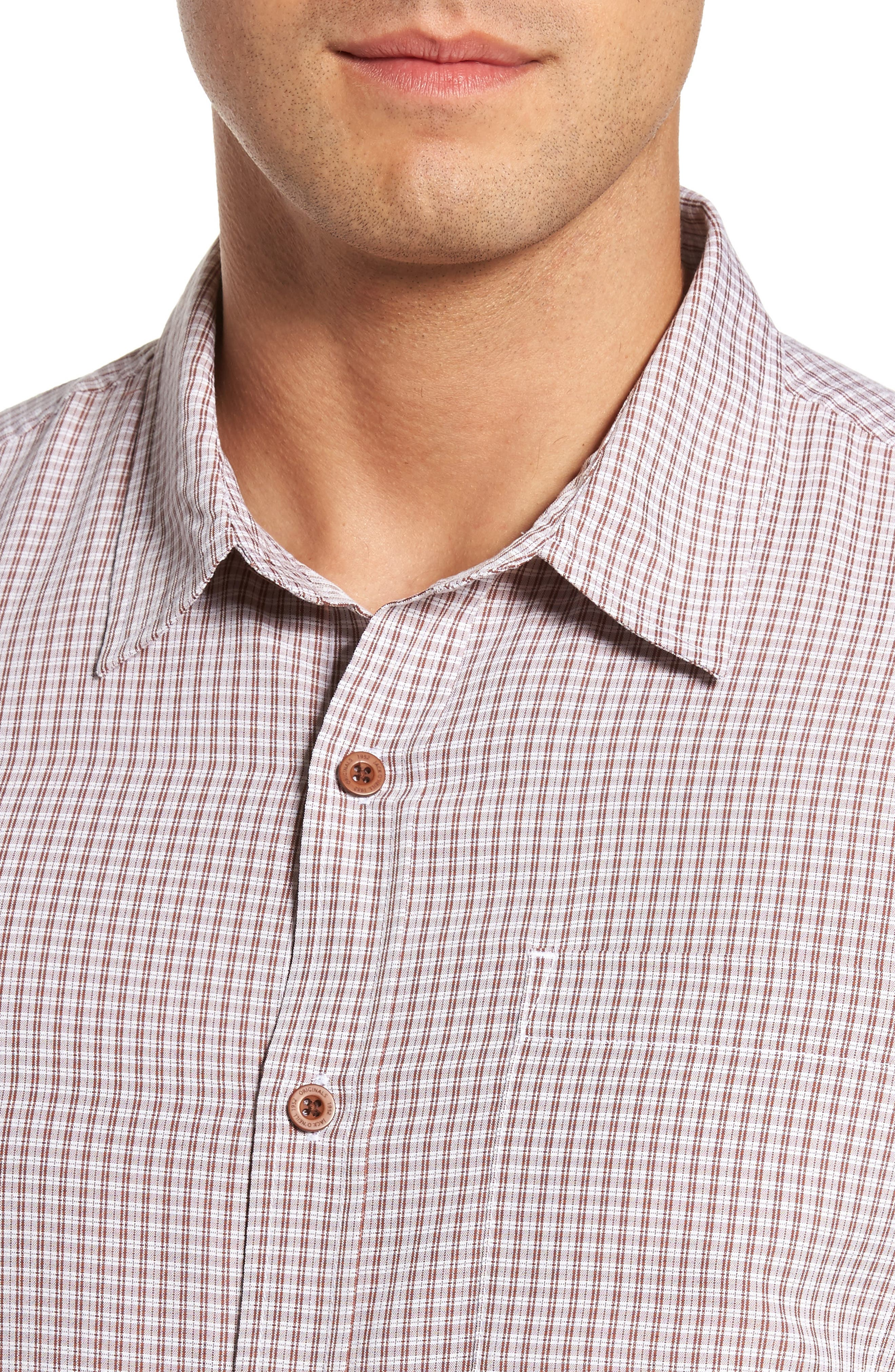Ford Sport Shirt,                             Alternate thumbnail 4, color,                             Picante