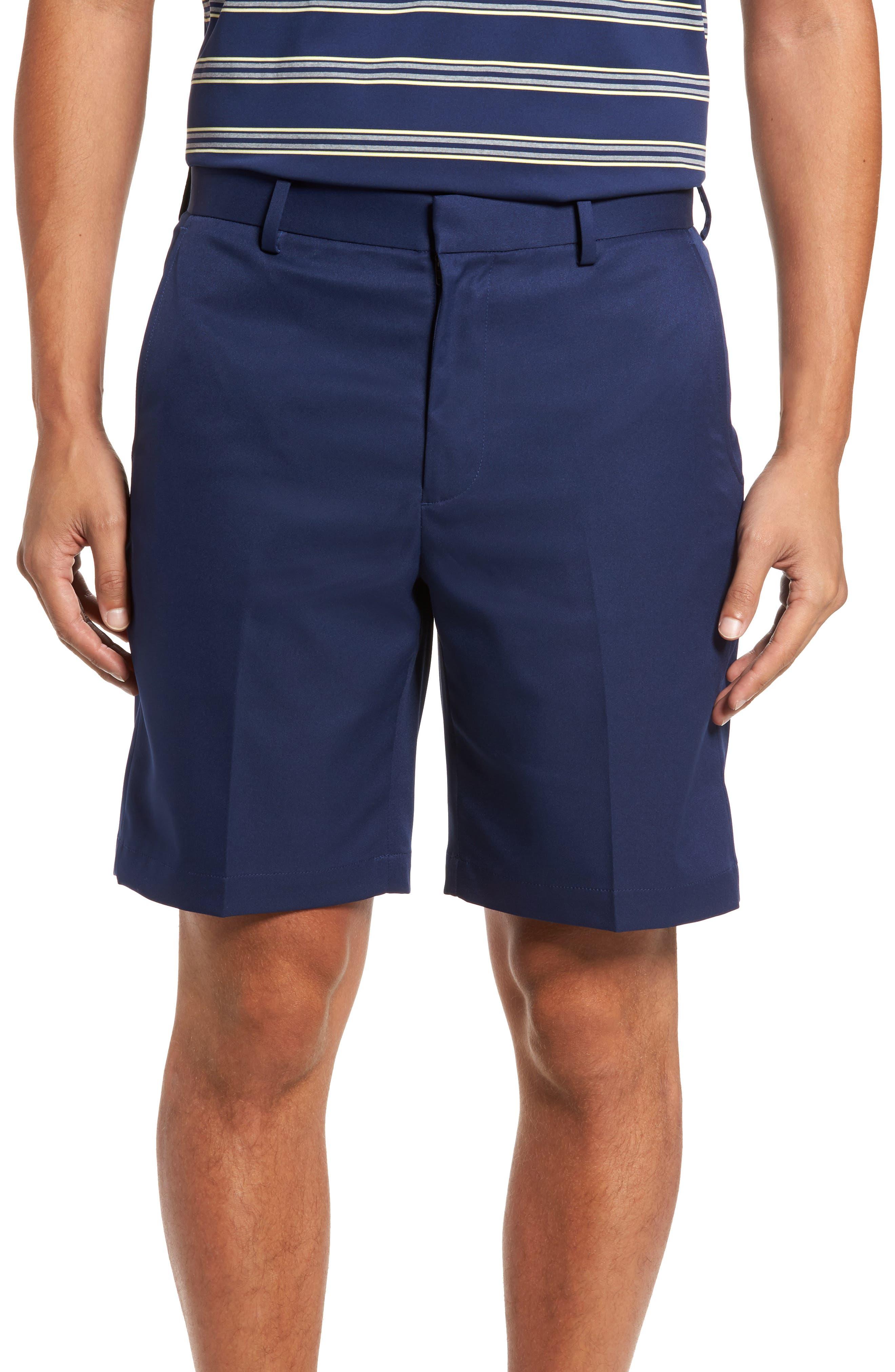 Main Image - Bobby Jones Flat Front Tech Shorts