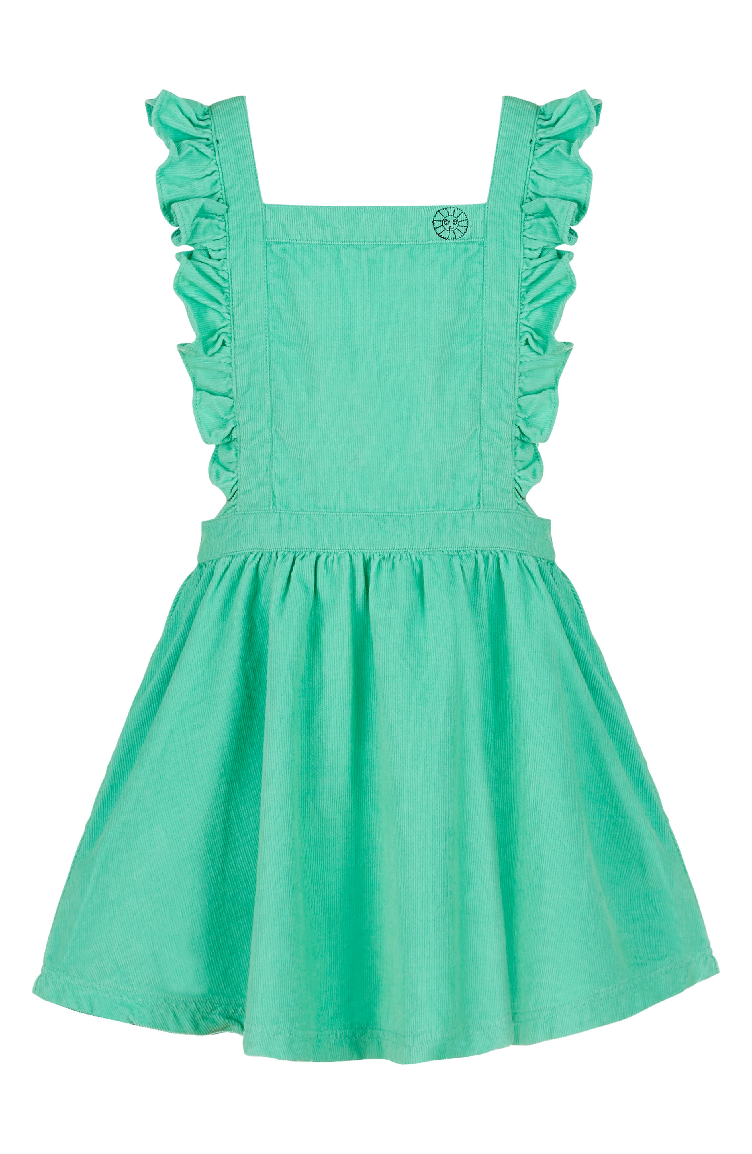 Alternate Image 1 Selected - Margherita Corduroy Dress (Baby Girls)