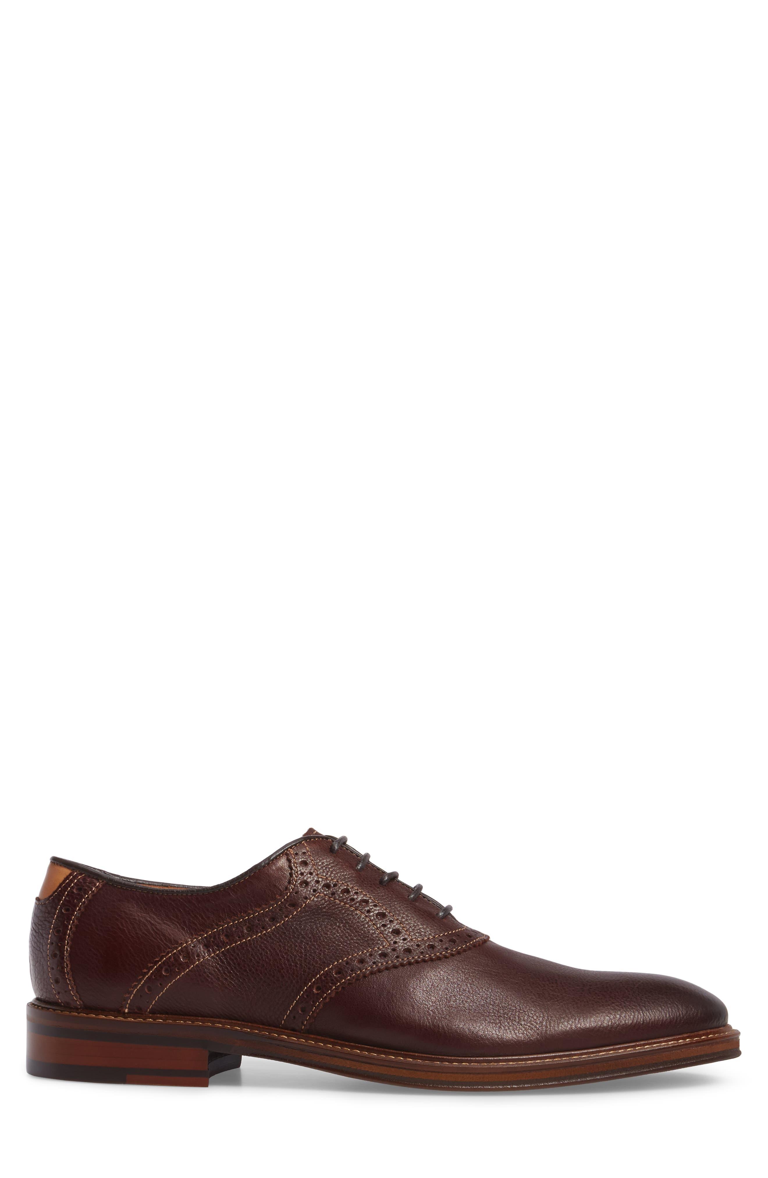 Alternate Image 3  - Johnston & Murphy Warner Saddle Shoe (Men)