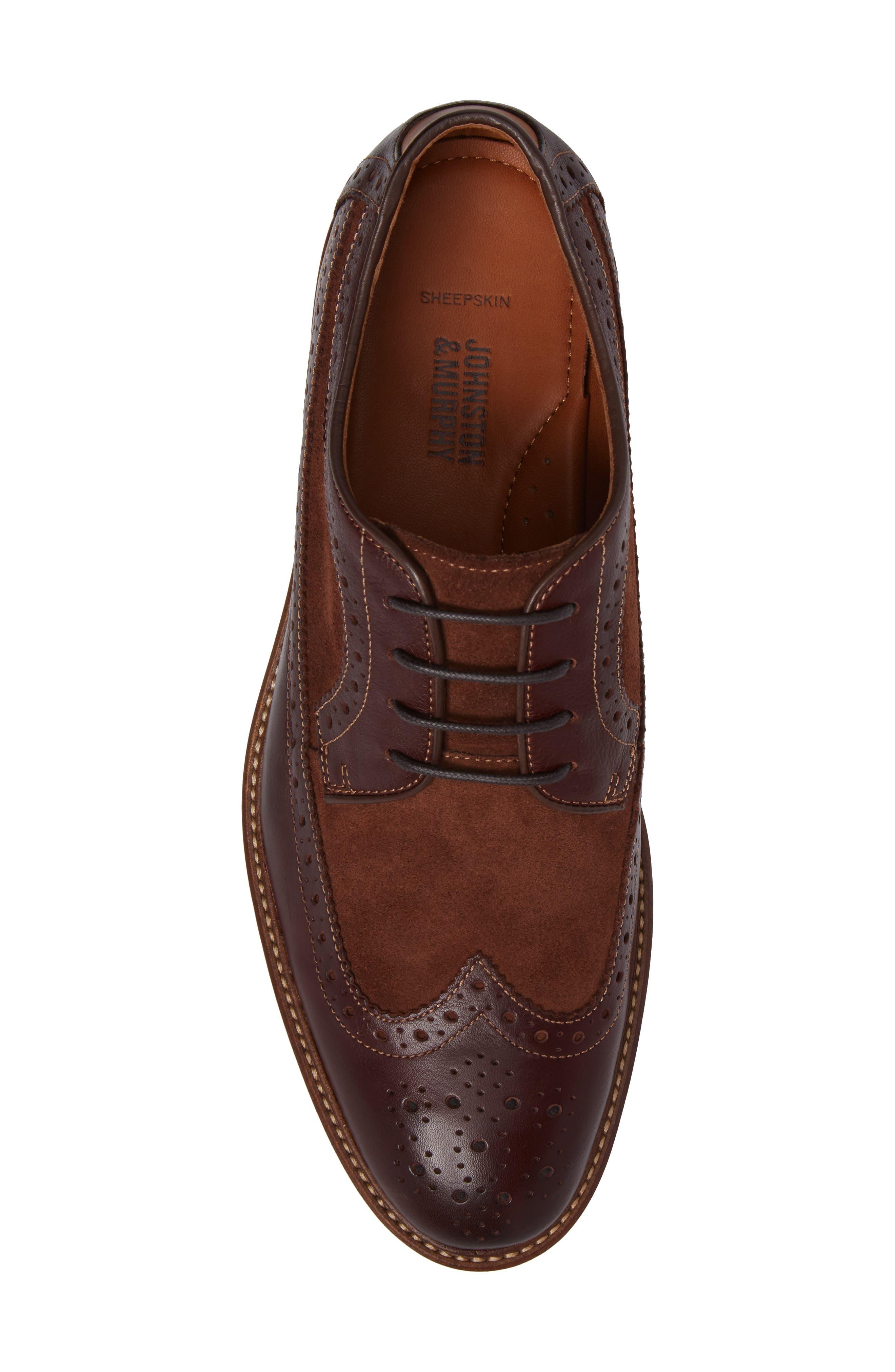 Alternate Image 5  - Johnston & Murphy Warner Spectator Shoe (Men)