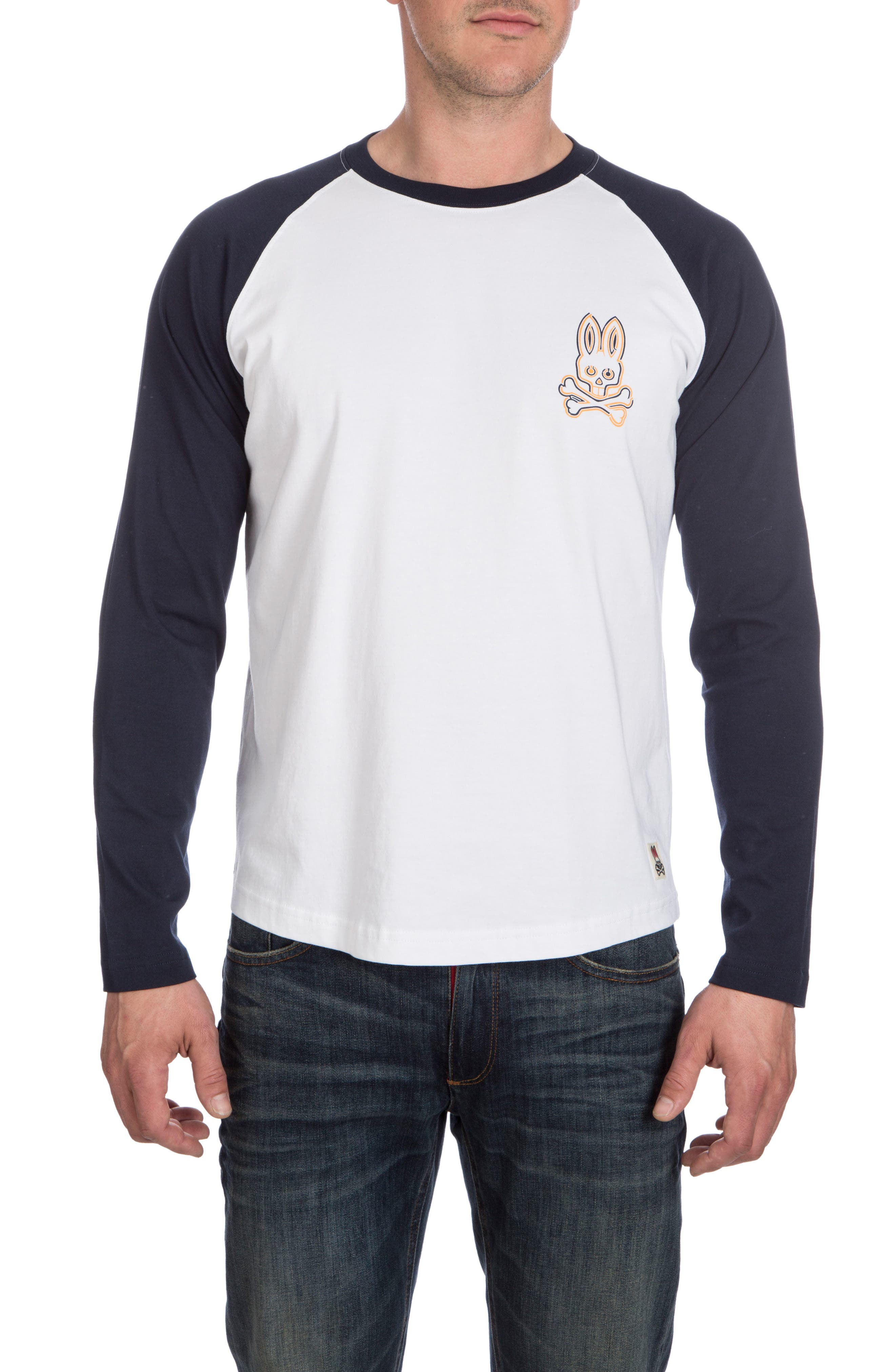 Psycho Bunny Mantle Raglan T-Shirt