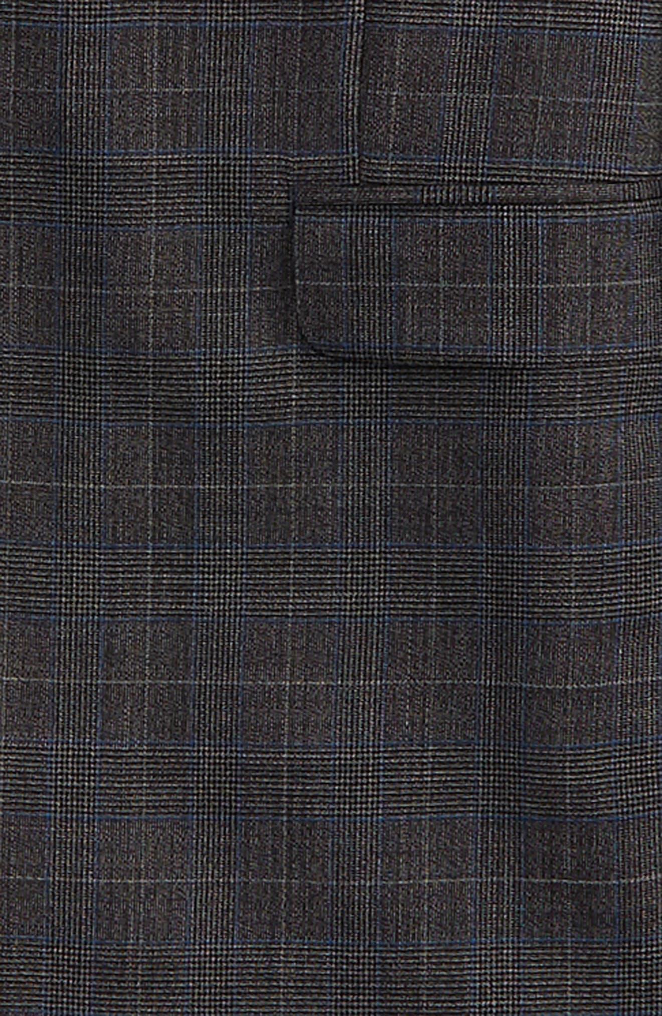 Alternate Image 2  - DKNY Glen Plaid Wool Suit (Big Boys)
