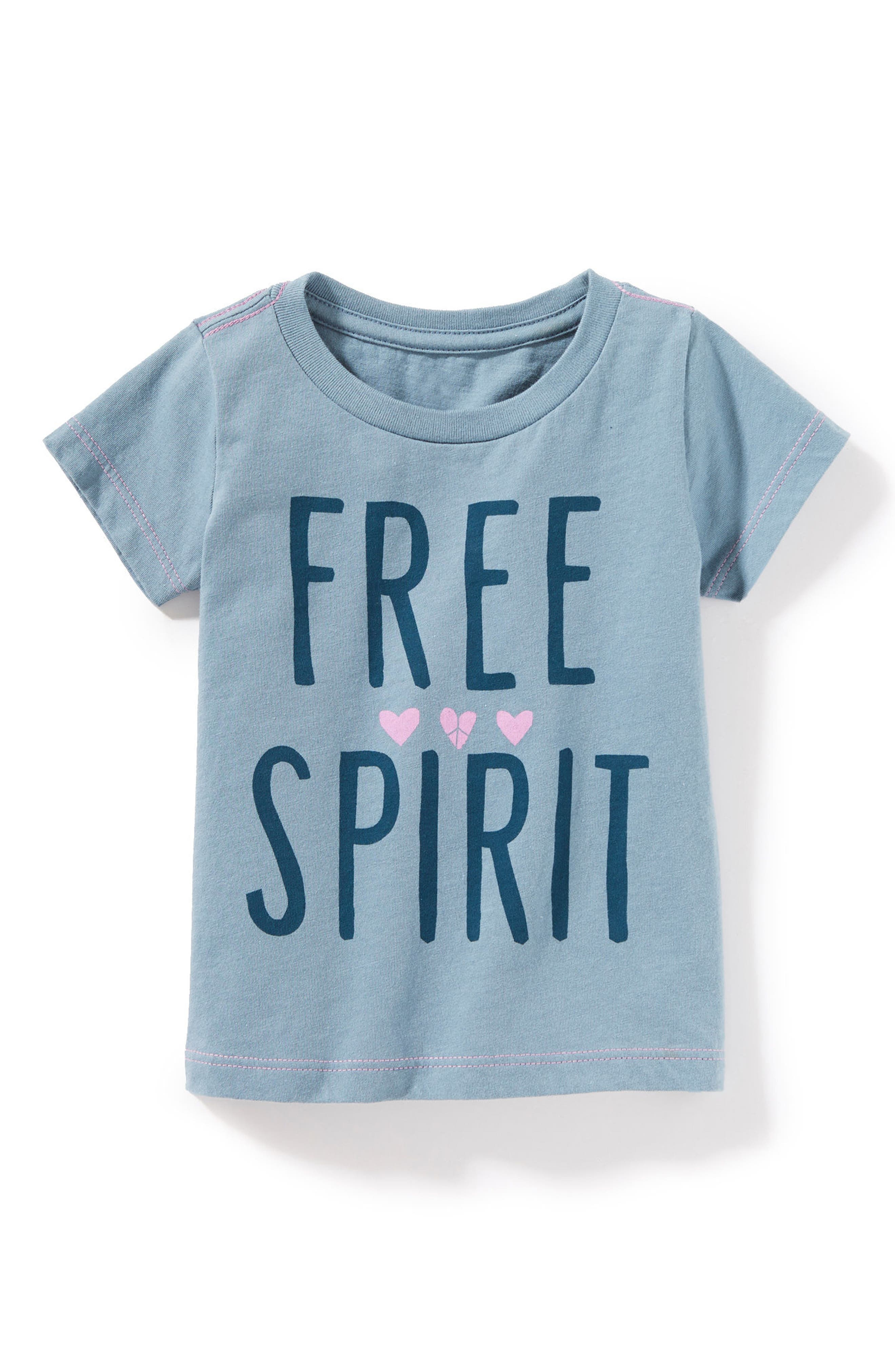 Main Image - Peek Free Spirit Graphic Tee (Baby Girls)