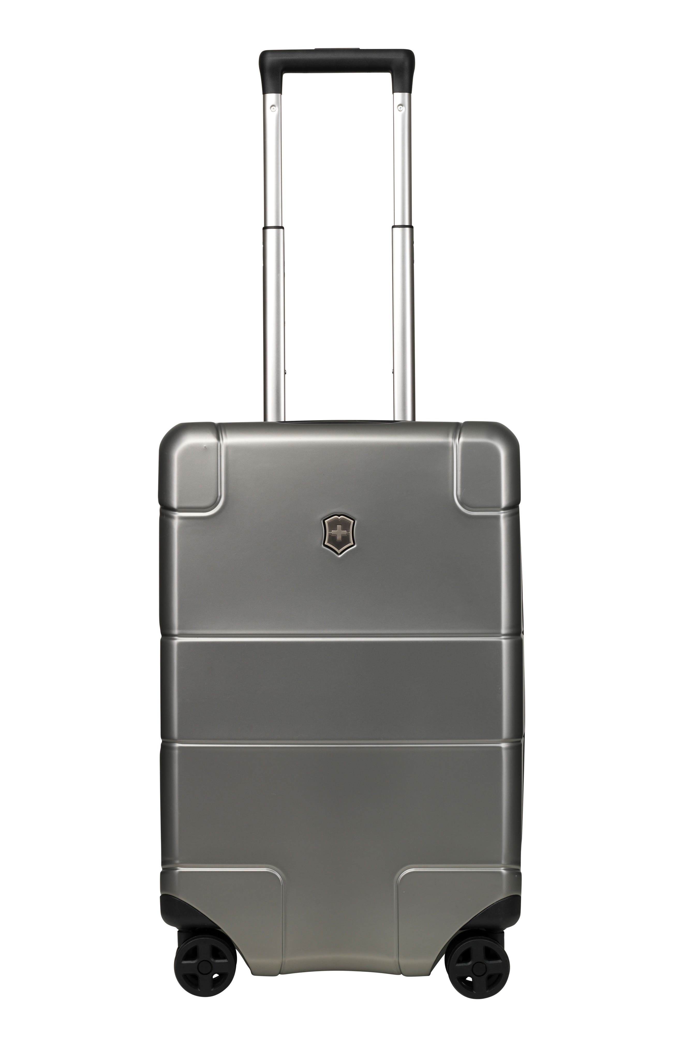 Lexicon Frequent Flyer 22-Inch Wheeled Carry-On,                             Main thumbnail 1, color,                             Titanium