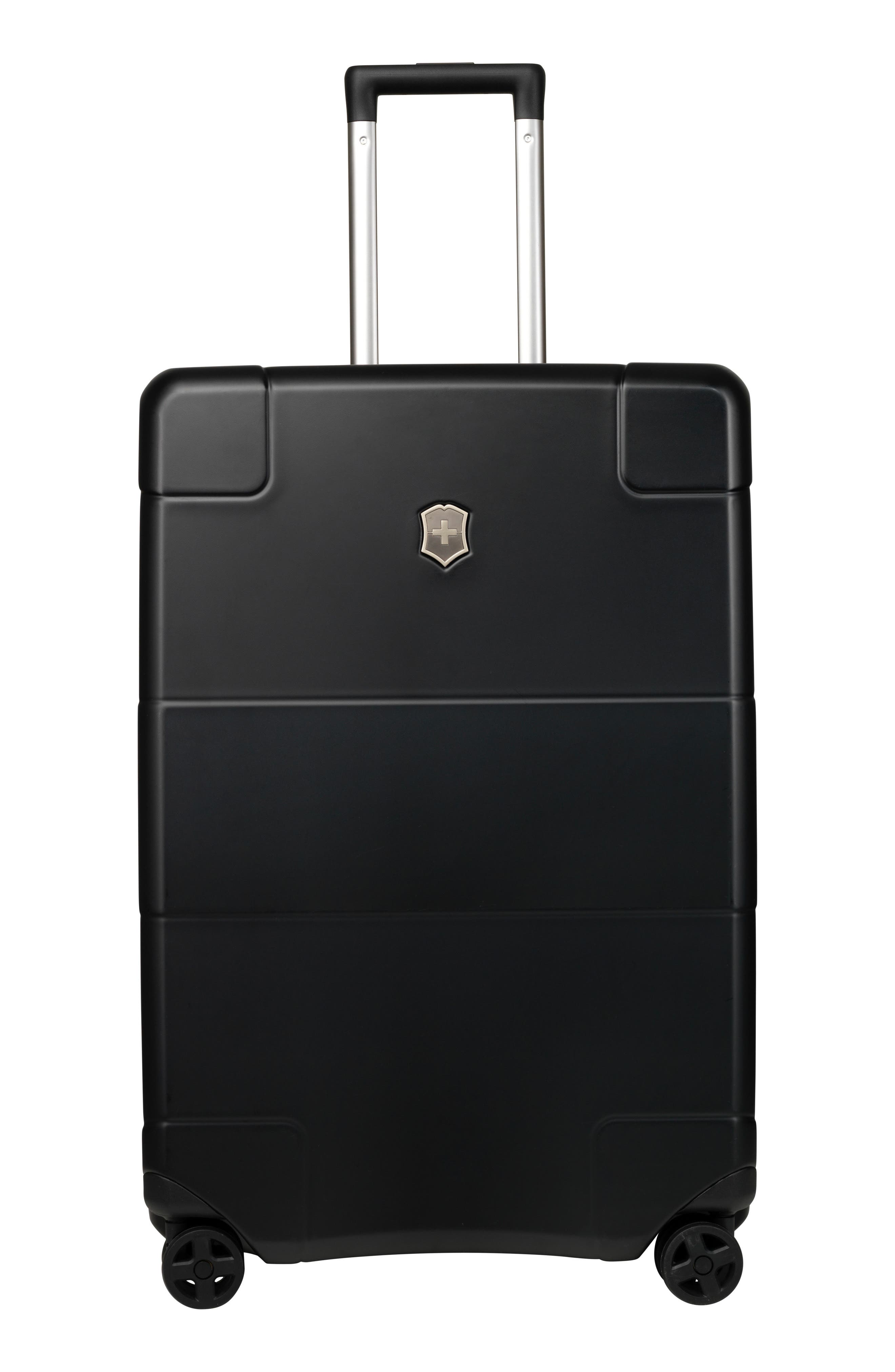 Lexicon 27-Inch Wheeled Suitcase,                         Main,                         color, Black