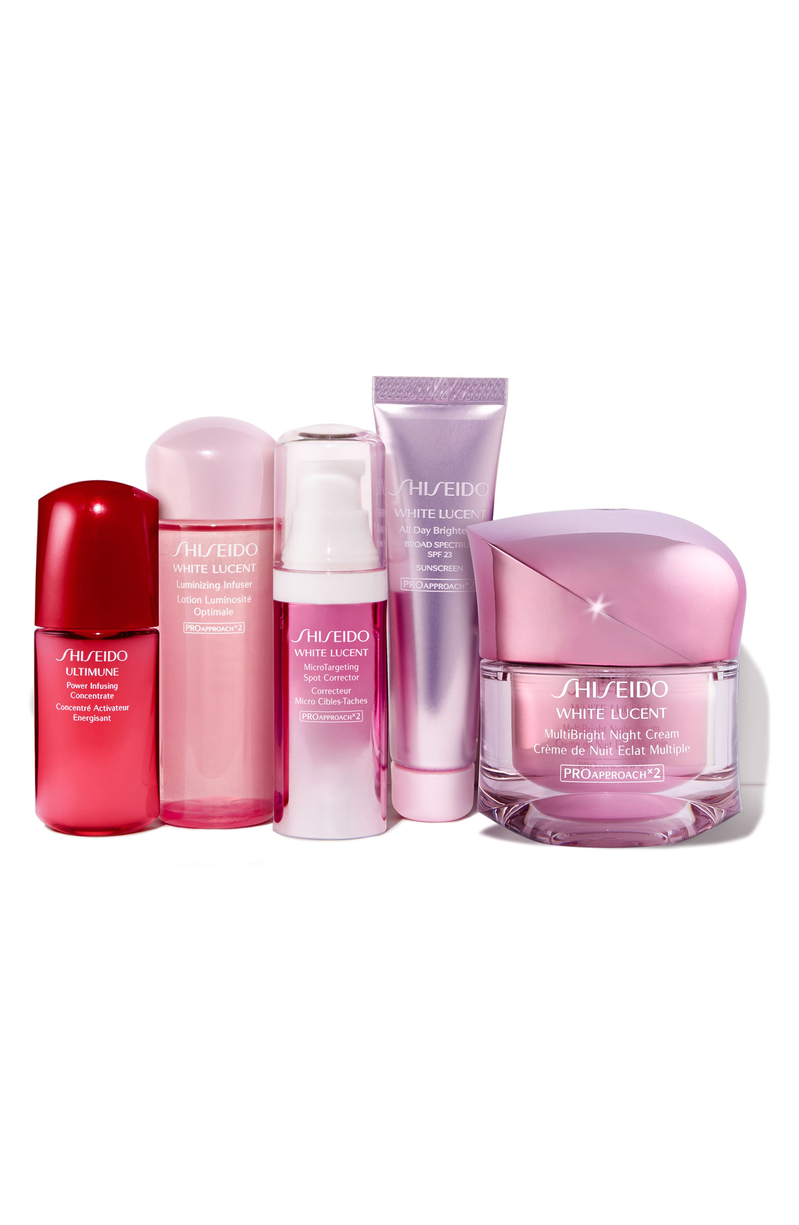 Alternate Image 2  - Shiseido Luminous Night Collection ($178 Value)