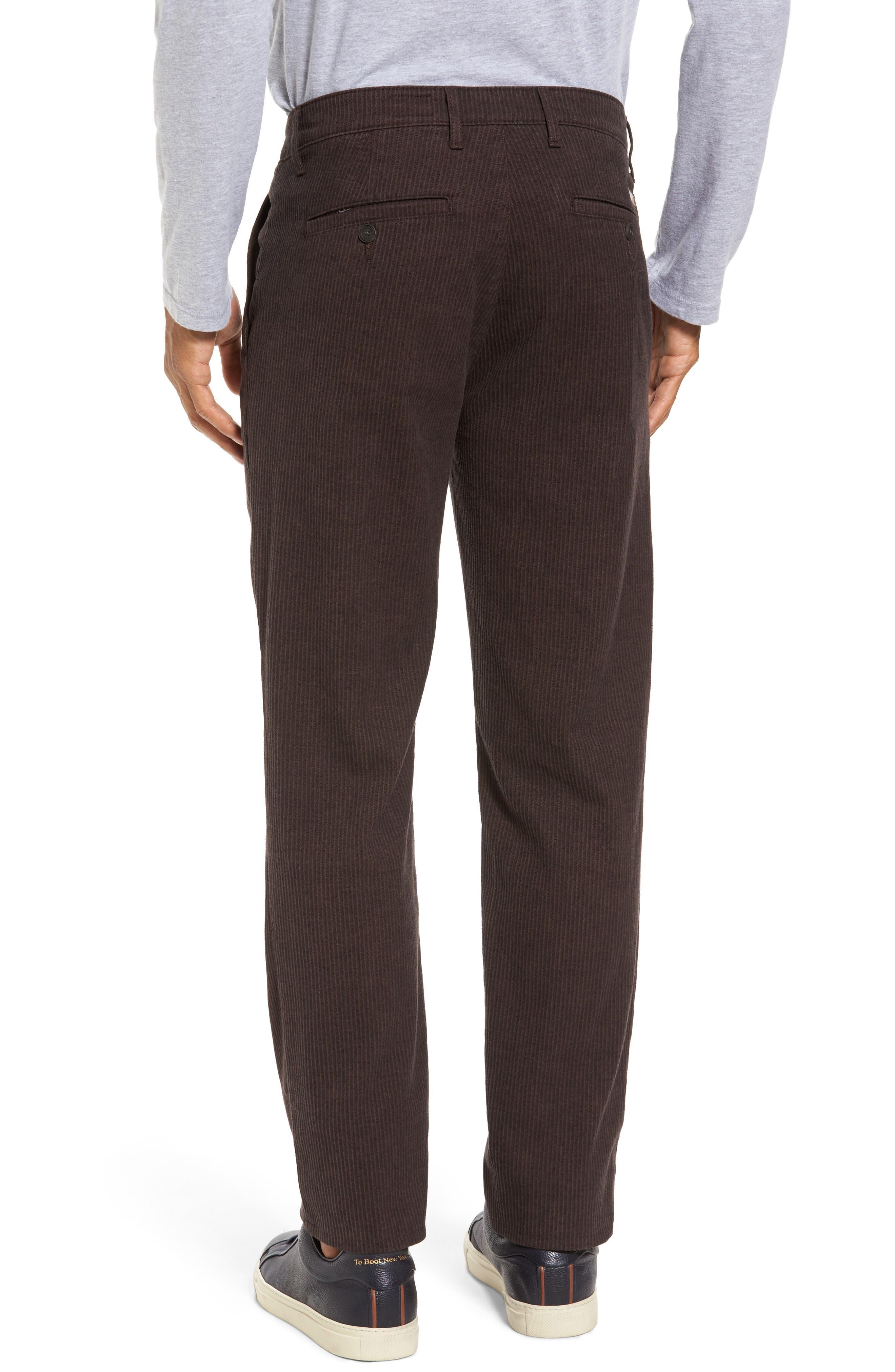 Marshall Slim Fit Pinstripe Pants,                             Alternate thumbnail 2, color,                             Dark Oakwood