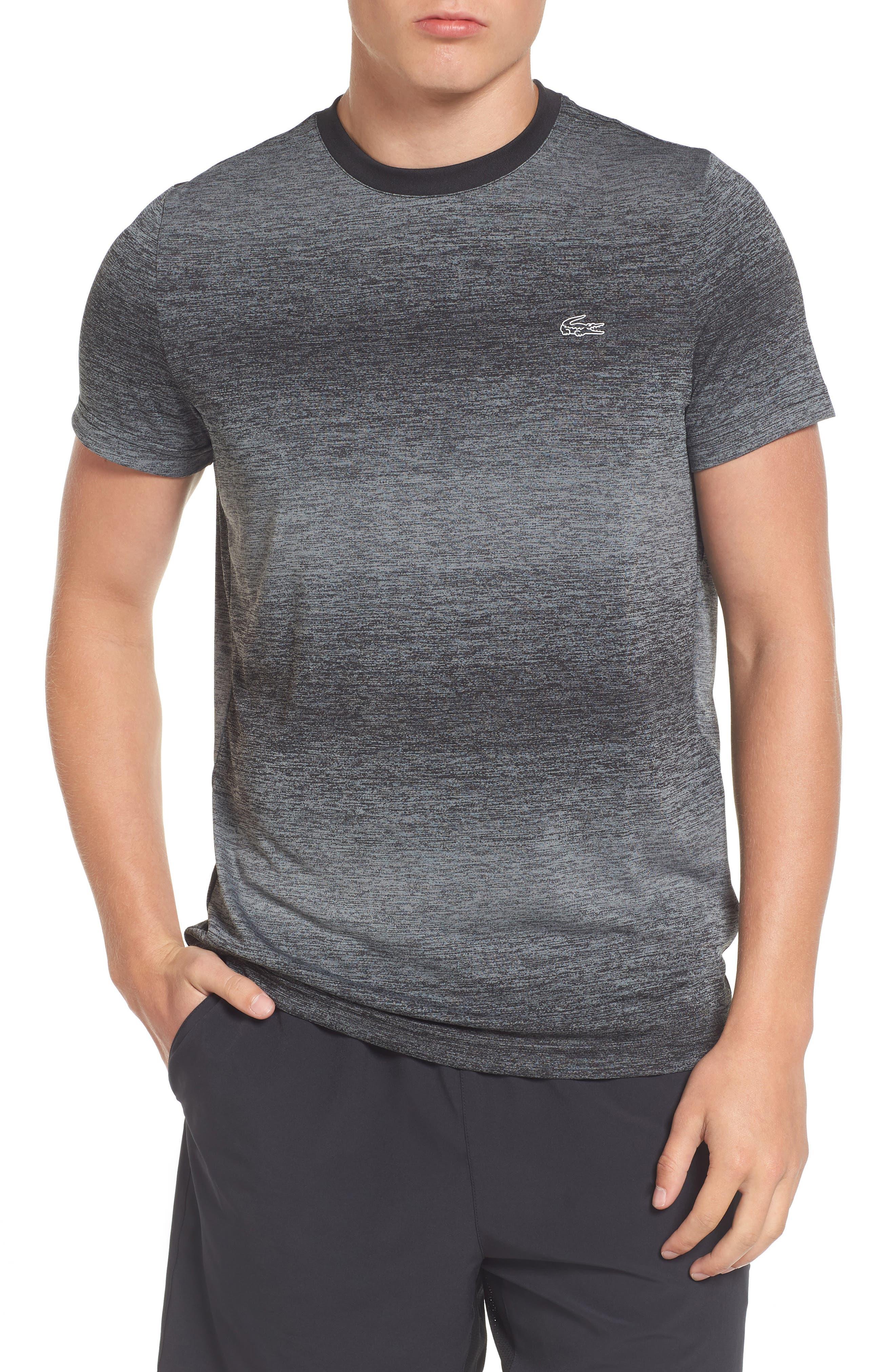 Ultra Dry Tech T-Shirt,                             Main thumbnail 1, color,                             Rk6 Black/ Black-Copper Orange